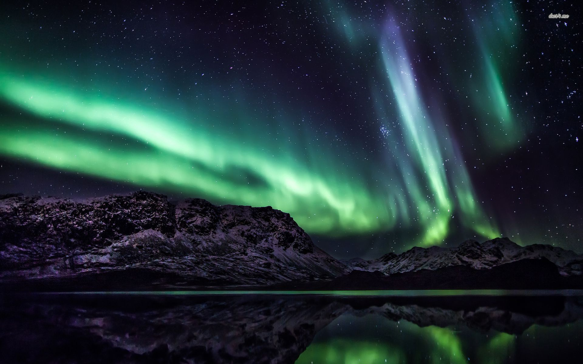 ... Aurora Borealis wallpaper 1920x1200 ...
