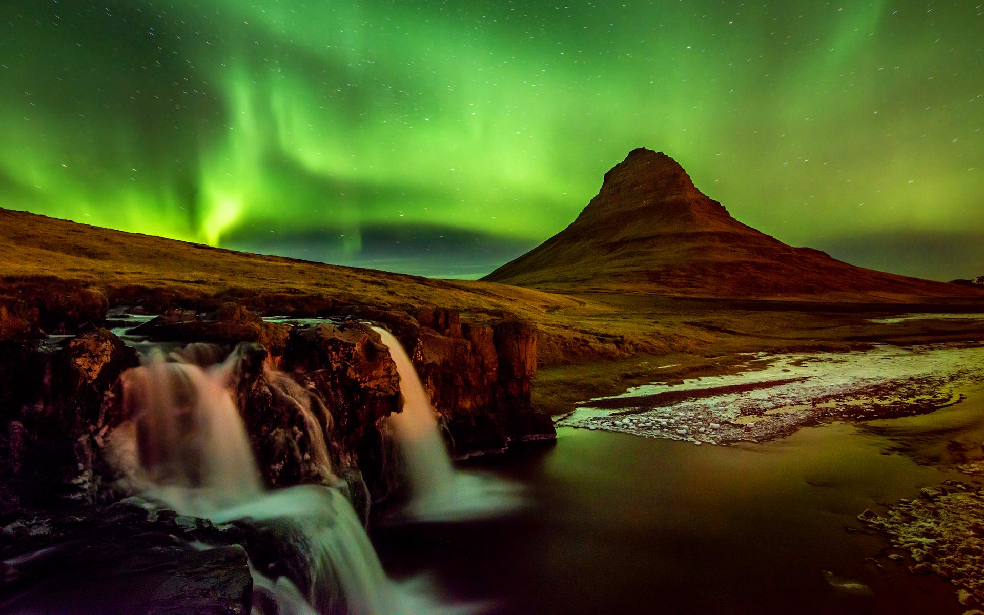 Aurora sky iceland