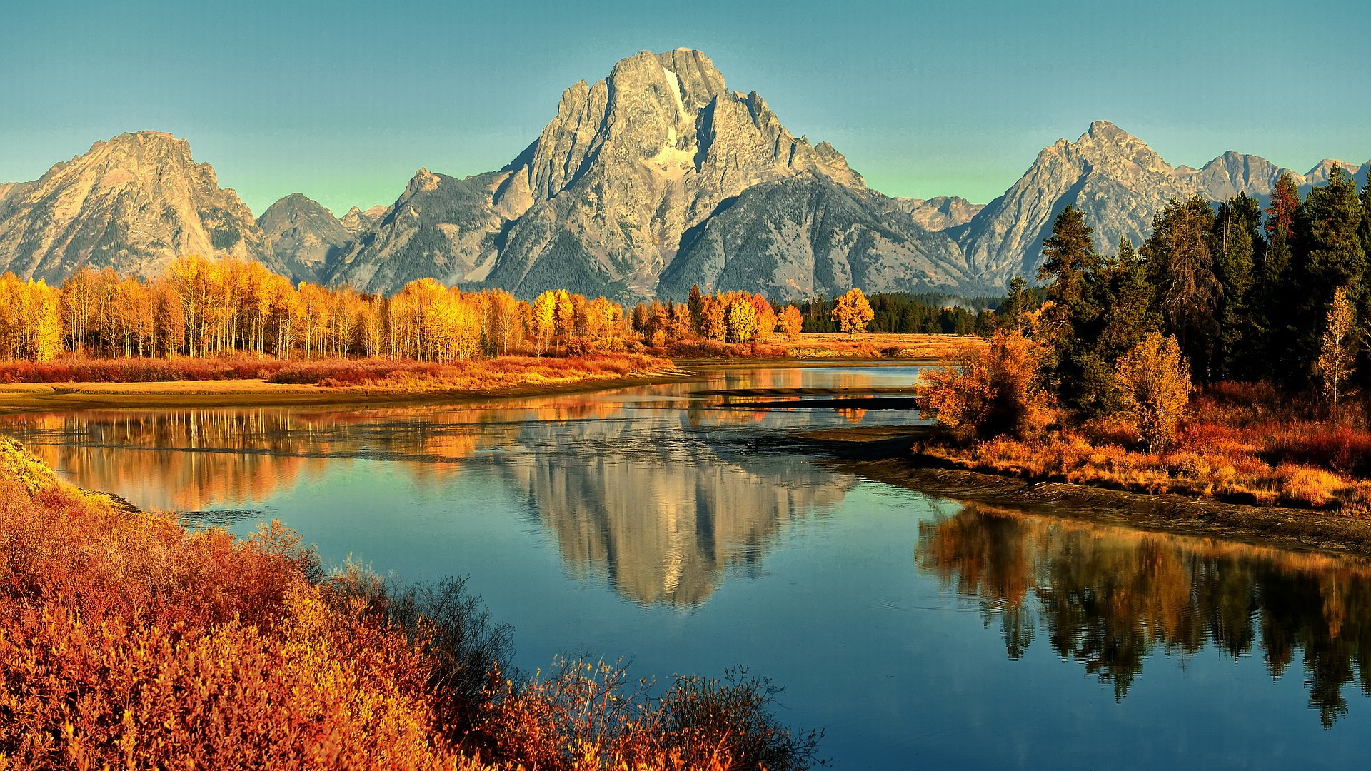 Autumn Mountain Wallpaper Xpx River Hd 1920x1080px