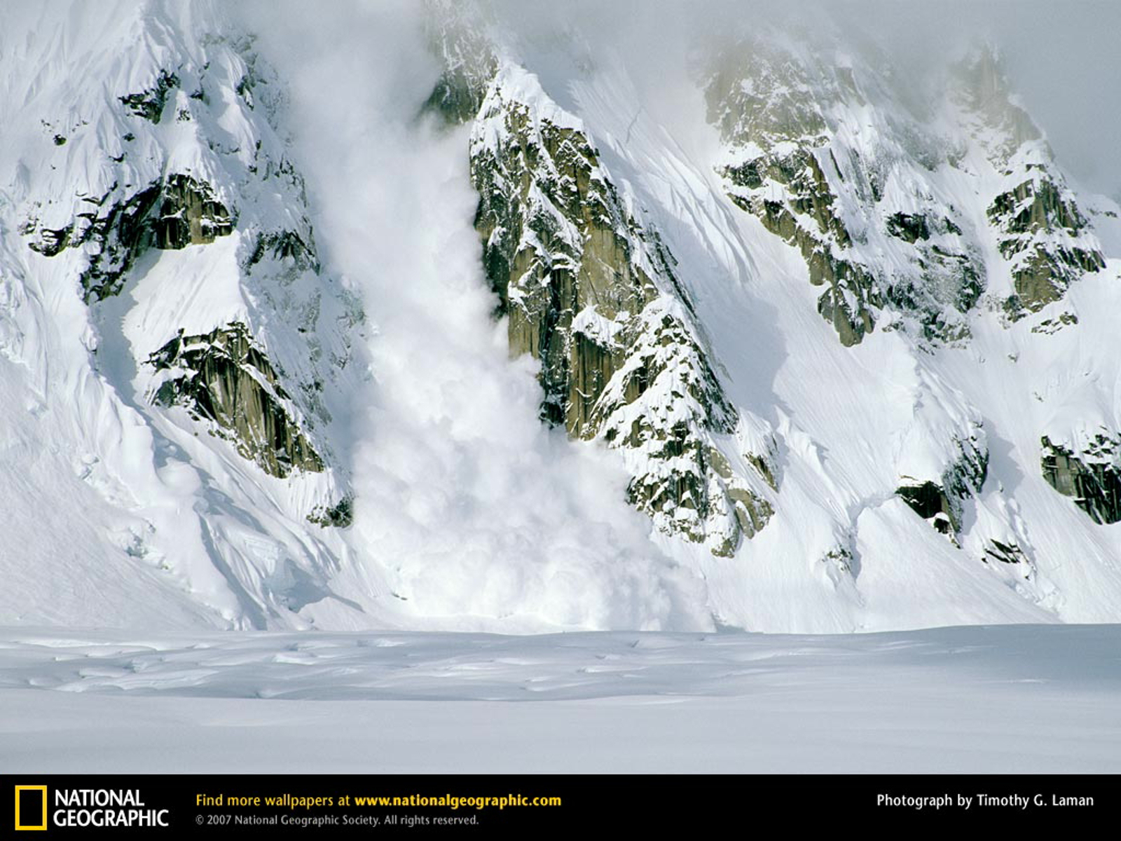 Avalanche, Rock Mountain Face, ...