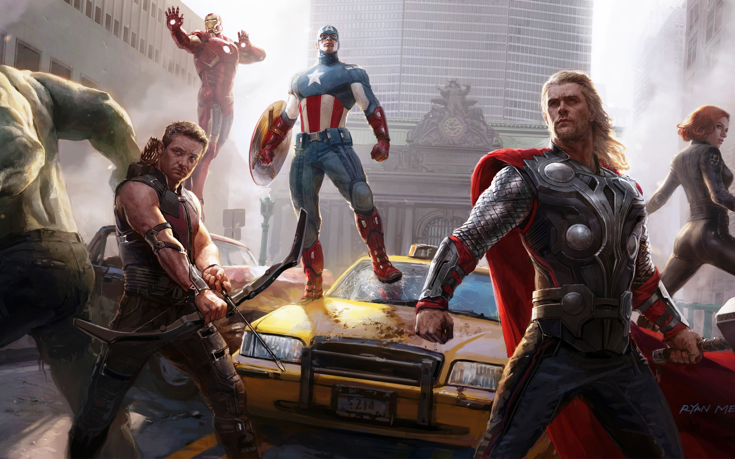 Avengers Art Wallpaper