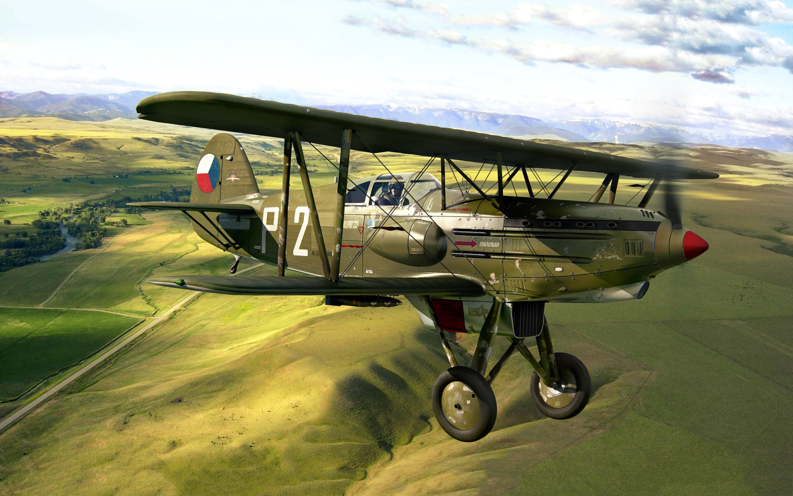 Avia b 534 biplane