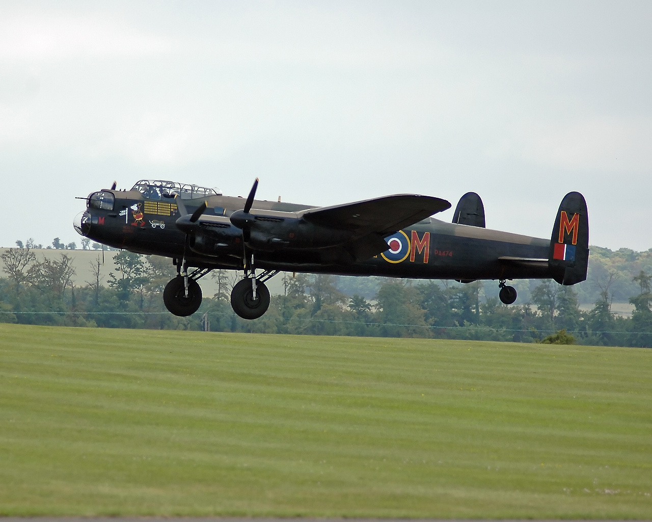 Lancaster B I PA474 of the Battle of Britain Memorial Flight, 2005