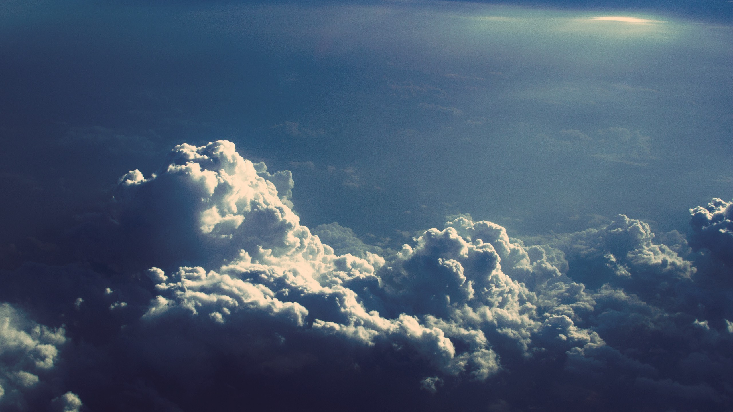 Awesome Above the Clouds Wallpaper