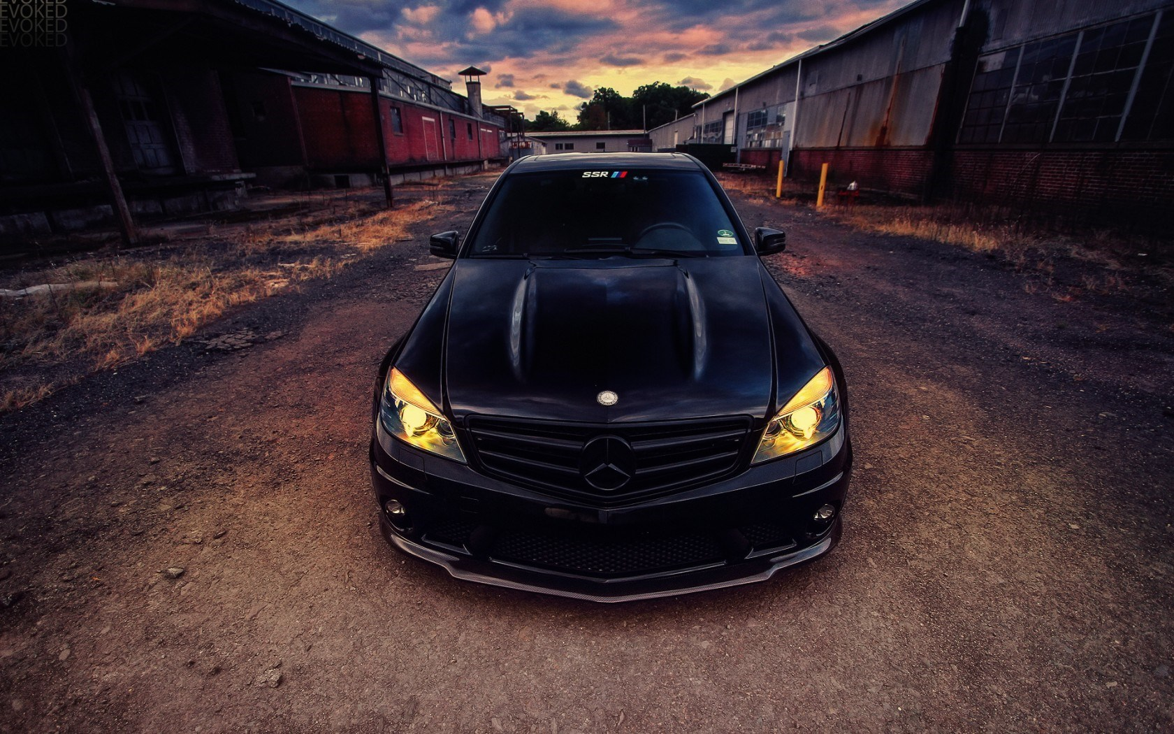 Awesome c63 AMG Wallpaper