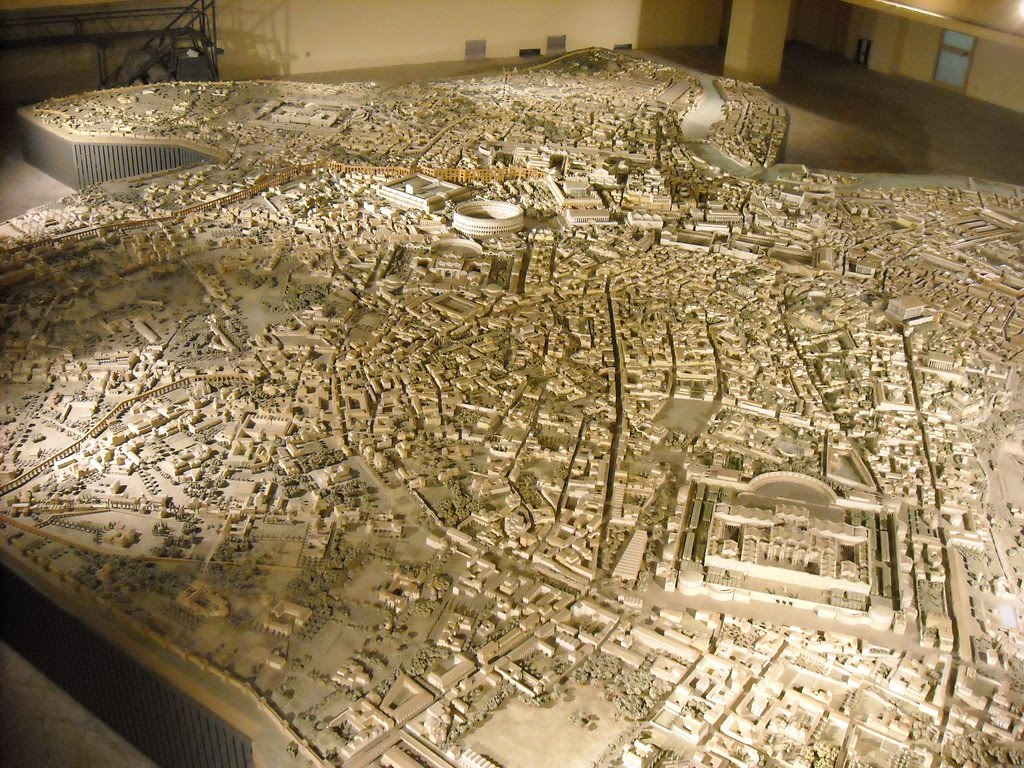 Awesome Model of ancient Rome ...