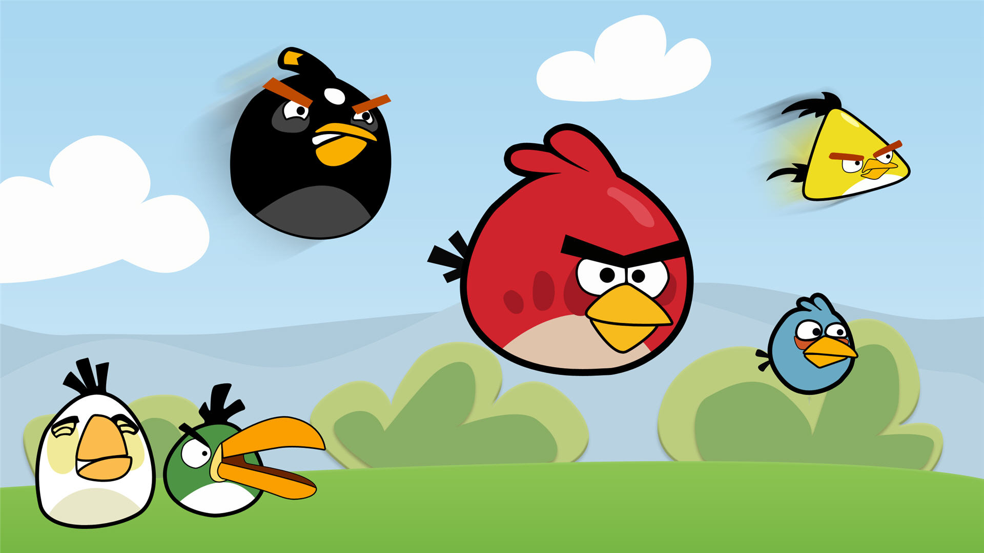 Awesome Angry Birds Wallpaper