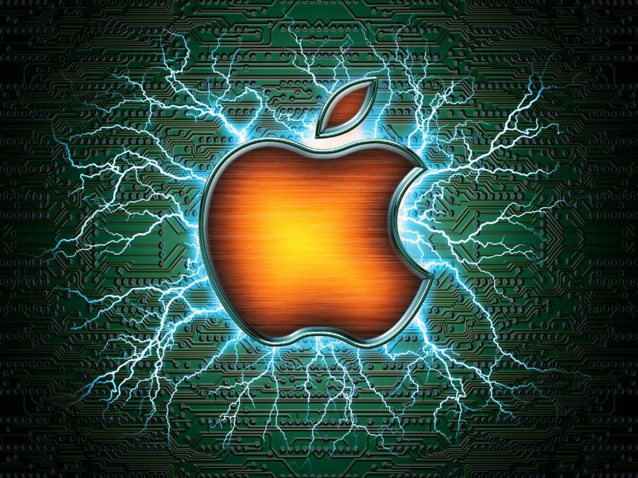 Awesome Apple Background