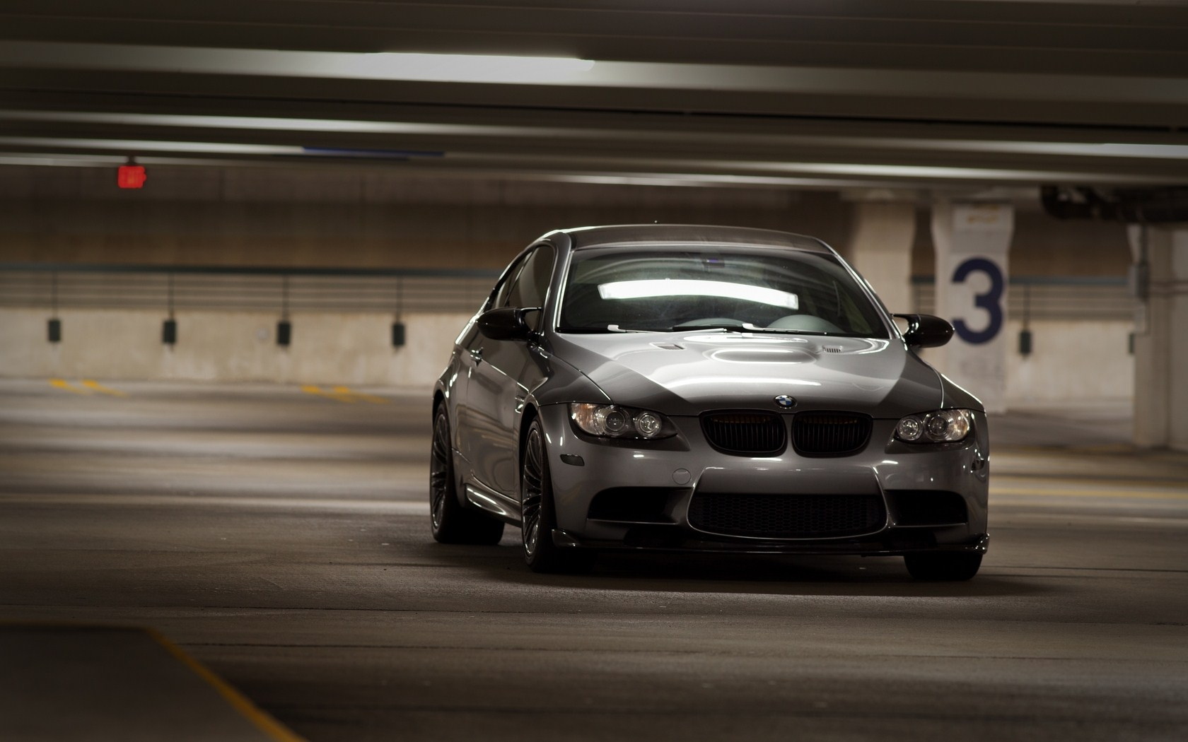 Gray BMW Garage Awesome HD Wallpaper