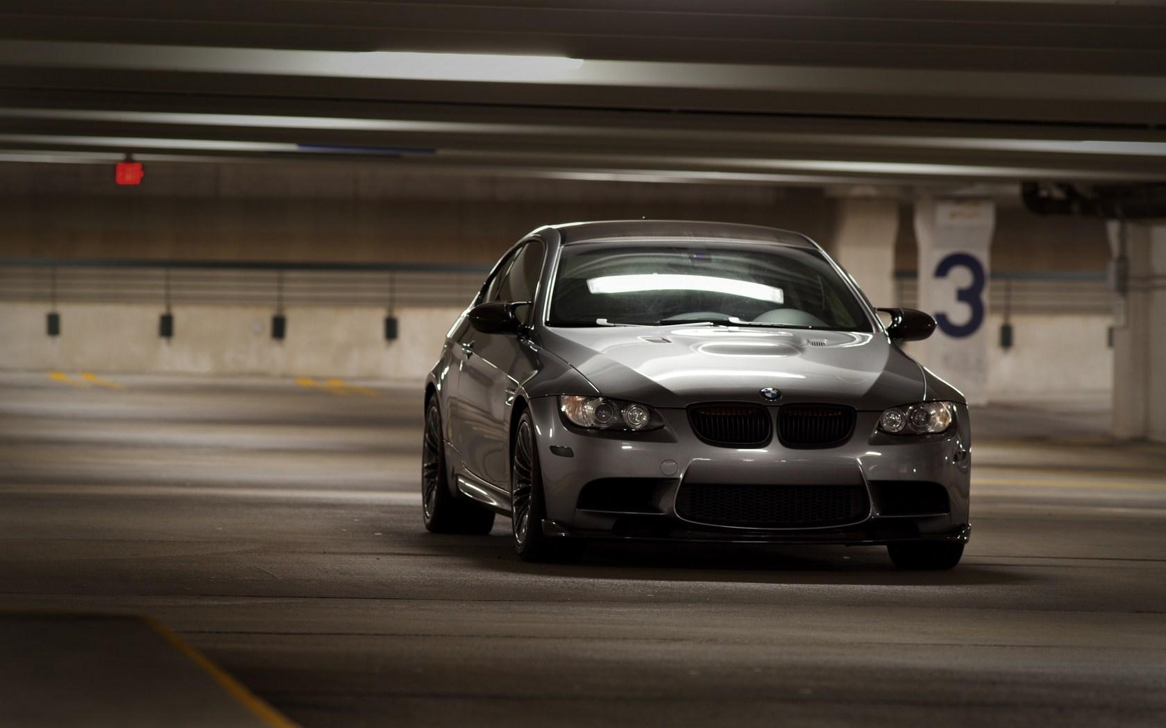 Gray BMW Garage Awesome HD Wallpaper