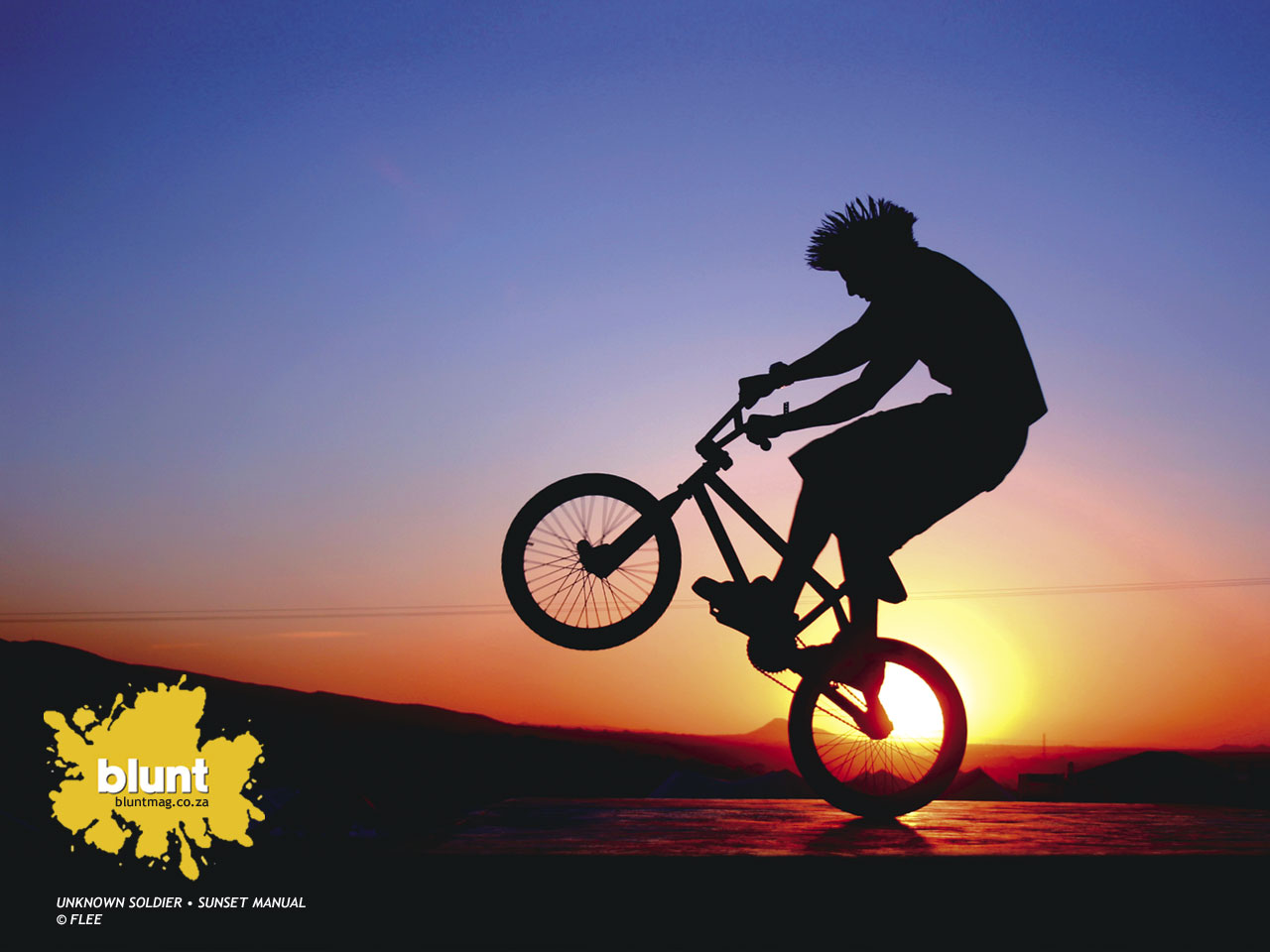 Awesome Bmx Wallpaper: Exciting Bmx Logo Wallpaper 1280x960px