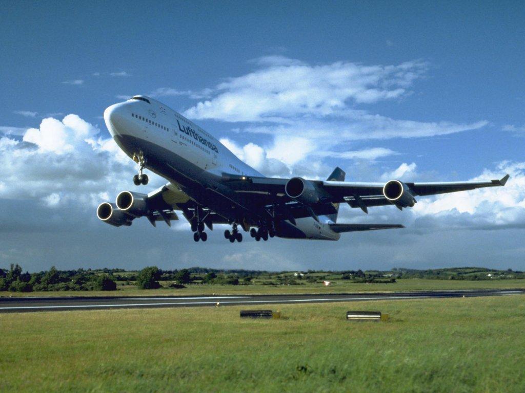 Take Off Boeing Plane Wallpaper High Res