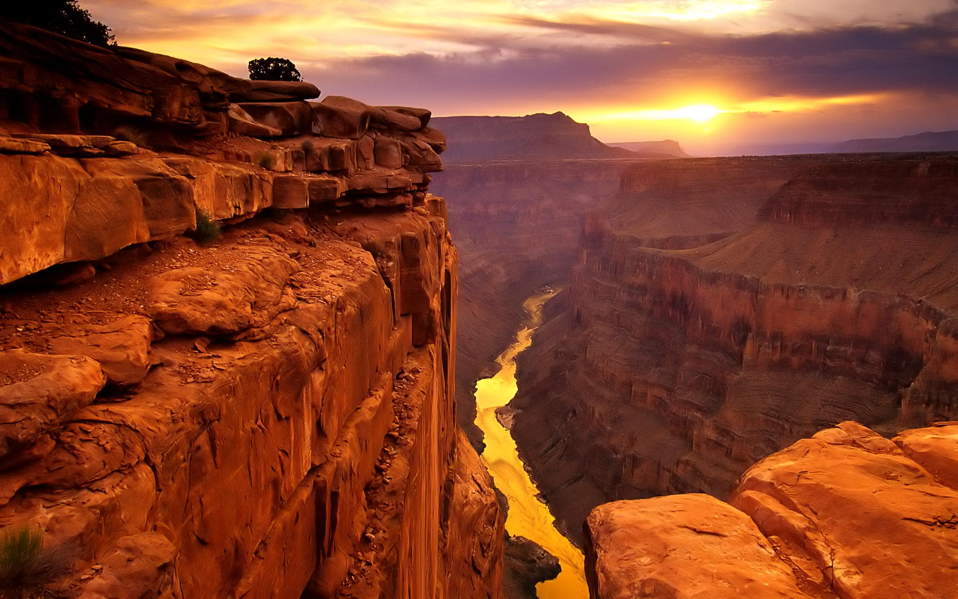 Awesome Canyon Wallpaper