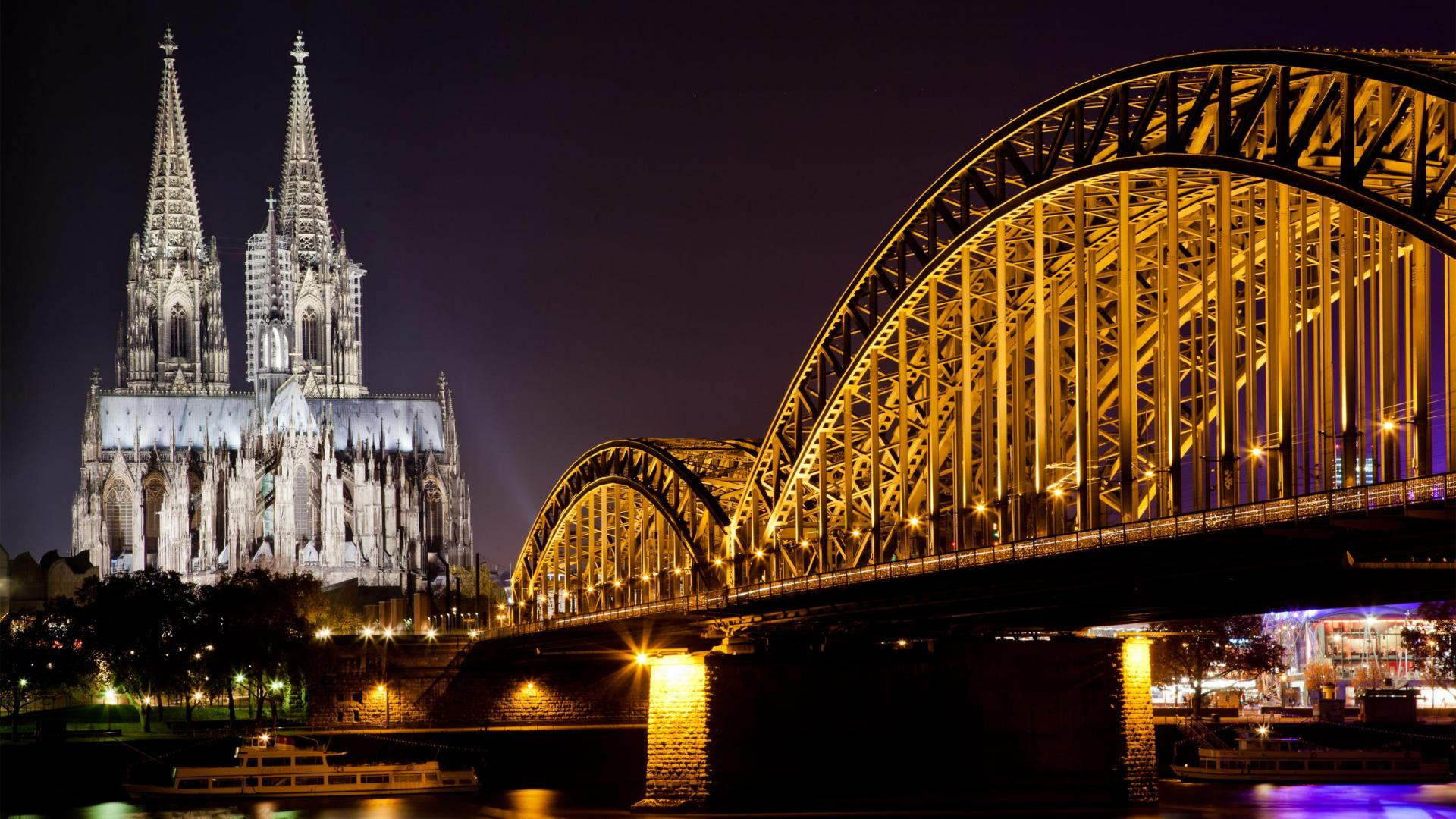 Awesome Hd Wallpapers 1080p: Cologne Cathedral Awesome Hd Wallpaperp Wallpapers 1920x1080px
