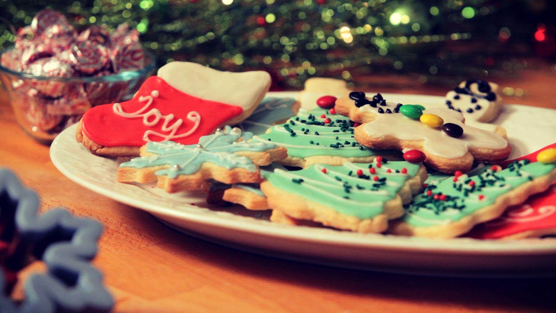 Awesome Christmas Cookies Wallpaper