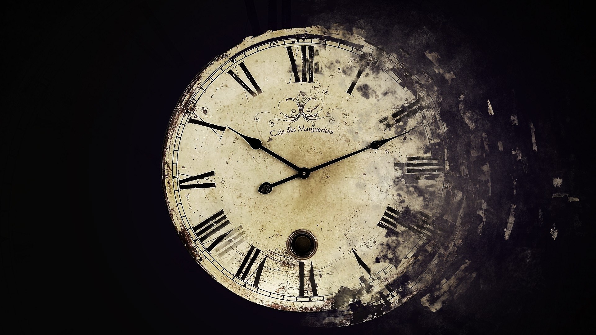 Awesome Clock Wallpaper