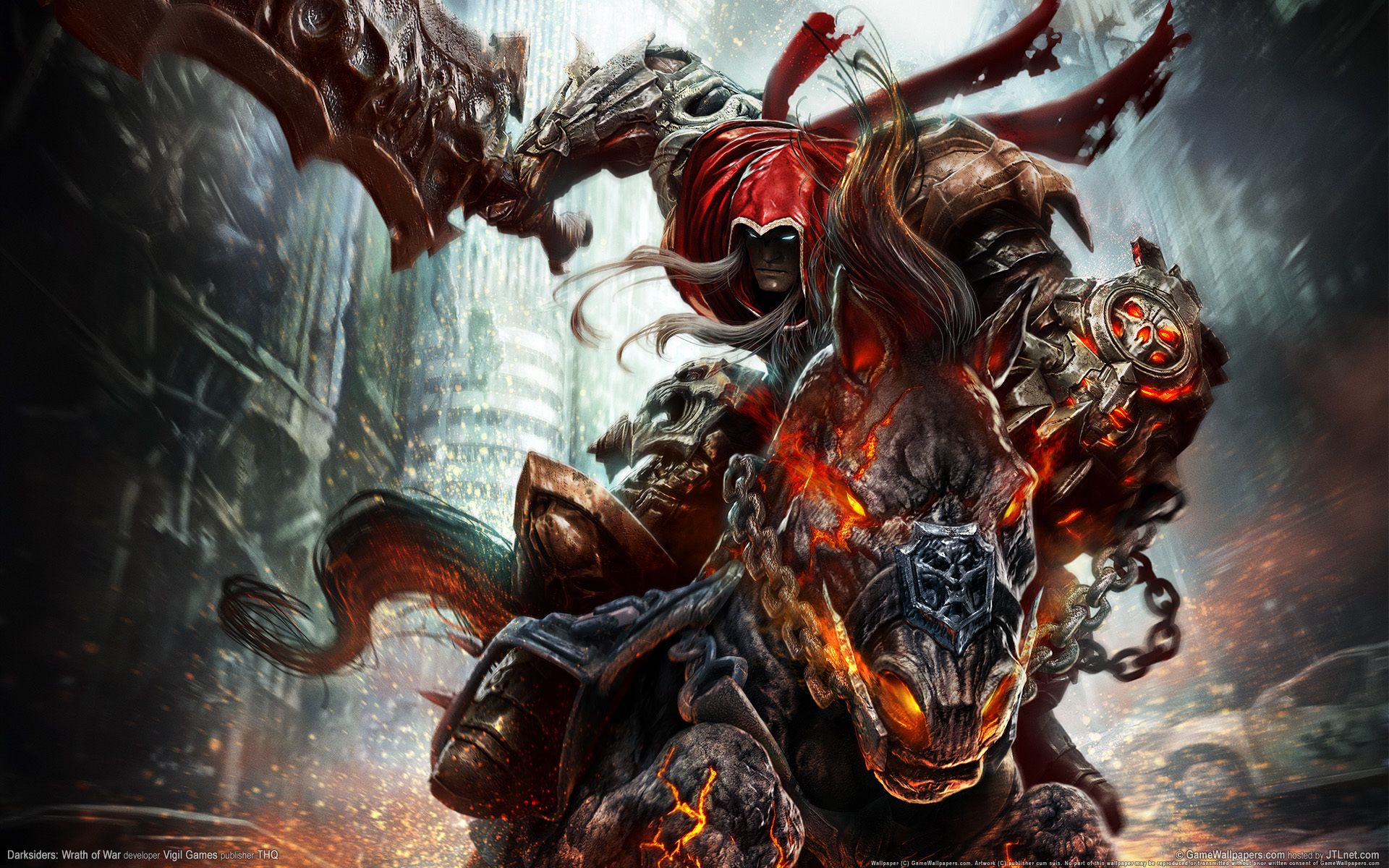 Awesome Darksiders Wallpaper