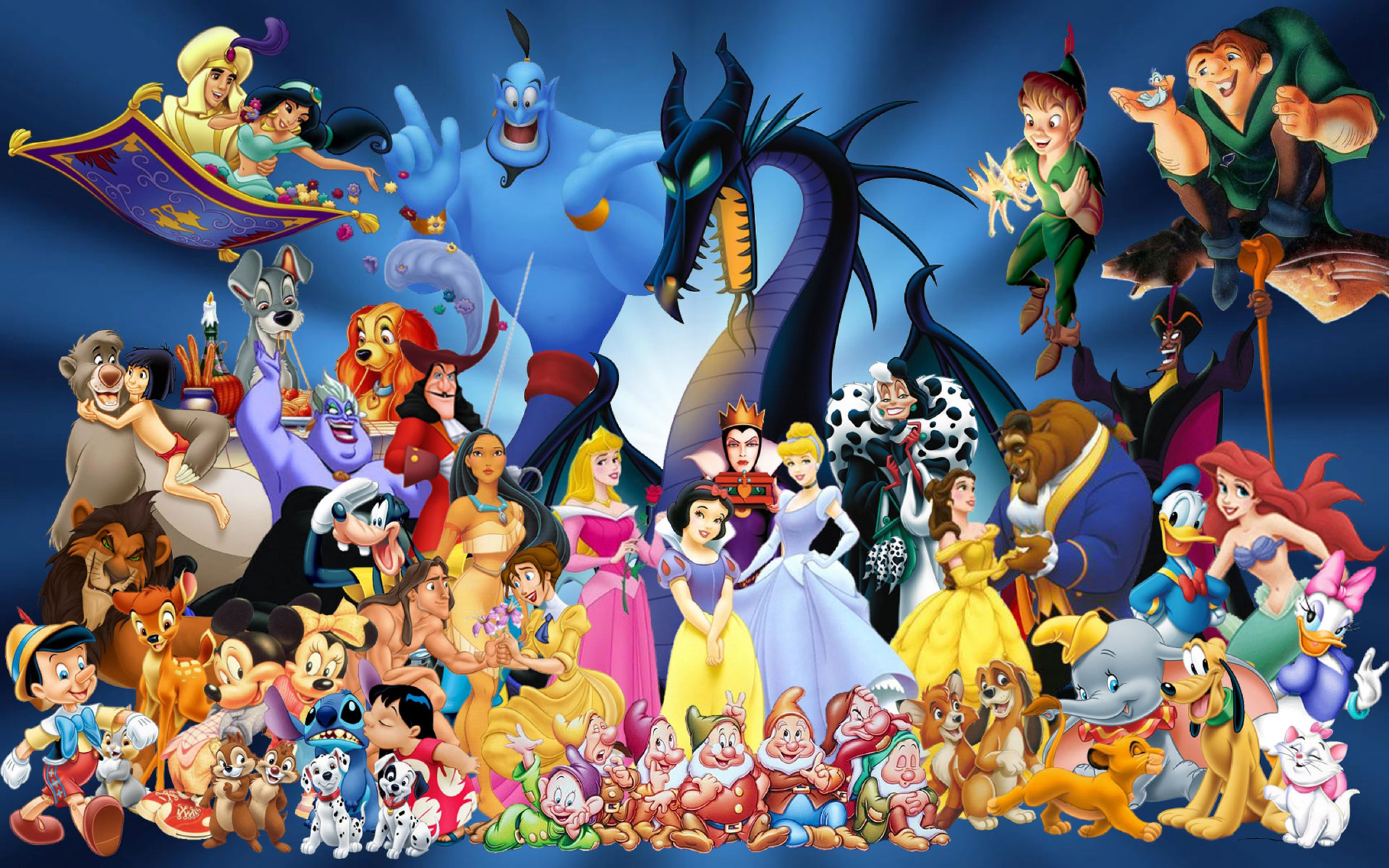 disney cartoon characters