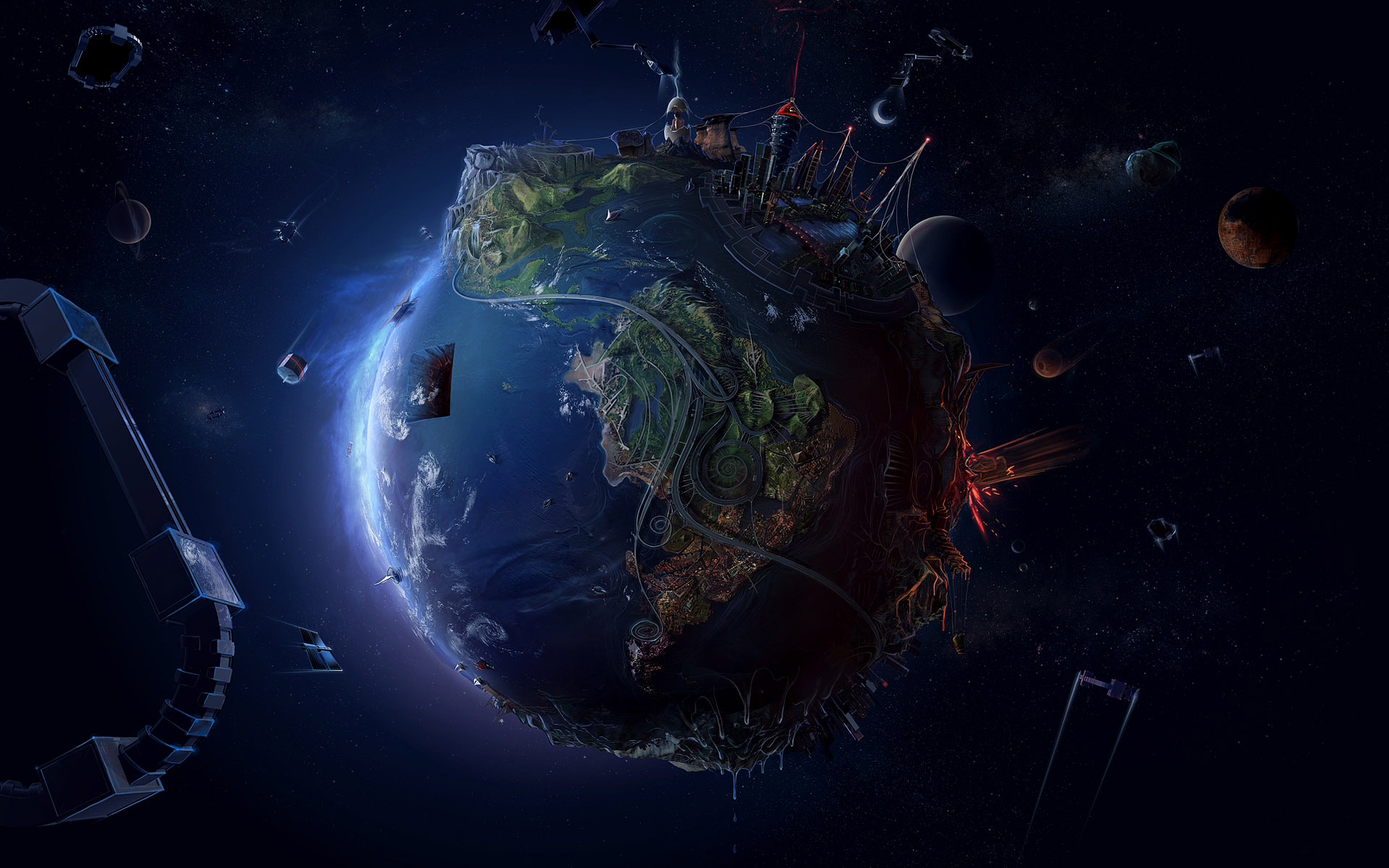 Awesome Earth Wallpaper
