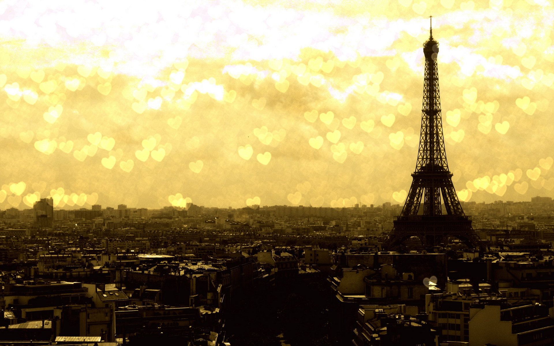 Awesome Eiffel Tower Wallpaper
