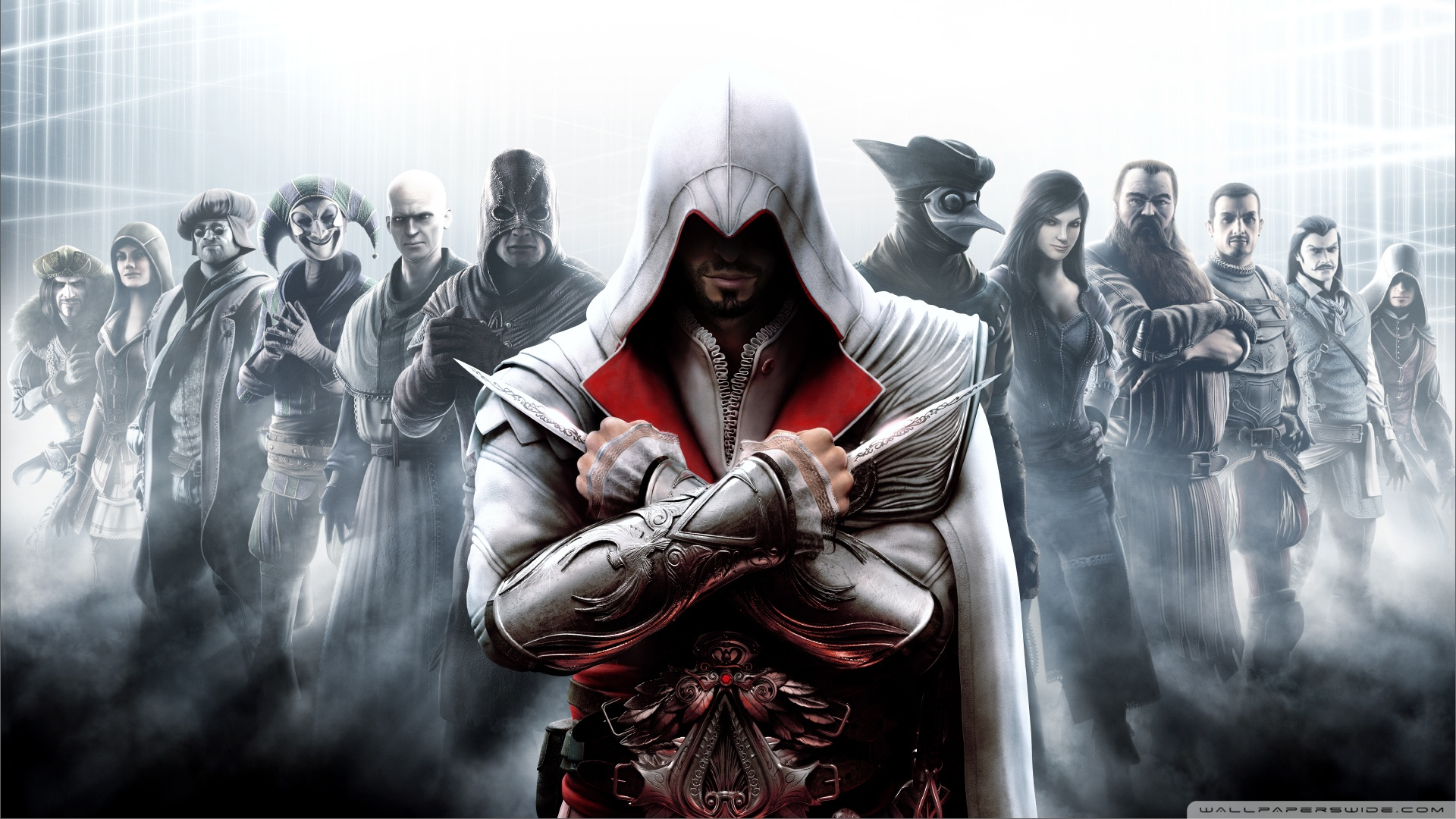 Ezio Games Character Wallpaper HD Awesome #1u0cj68q