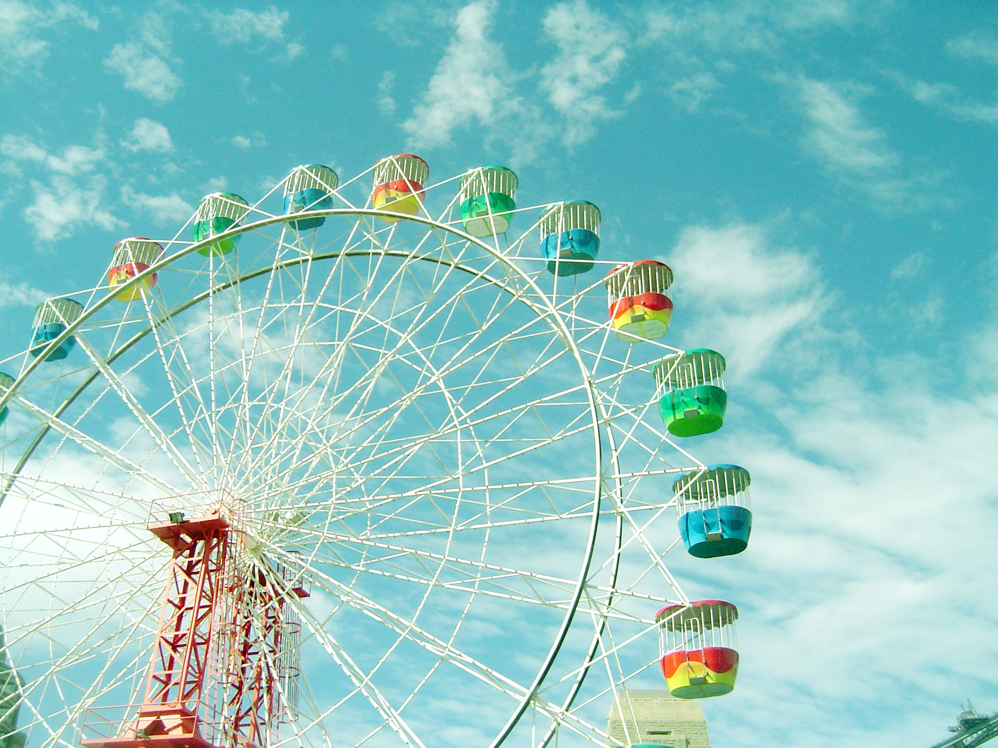 Awesome Ferris Wheel Wallpaper