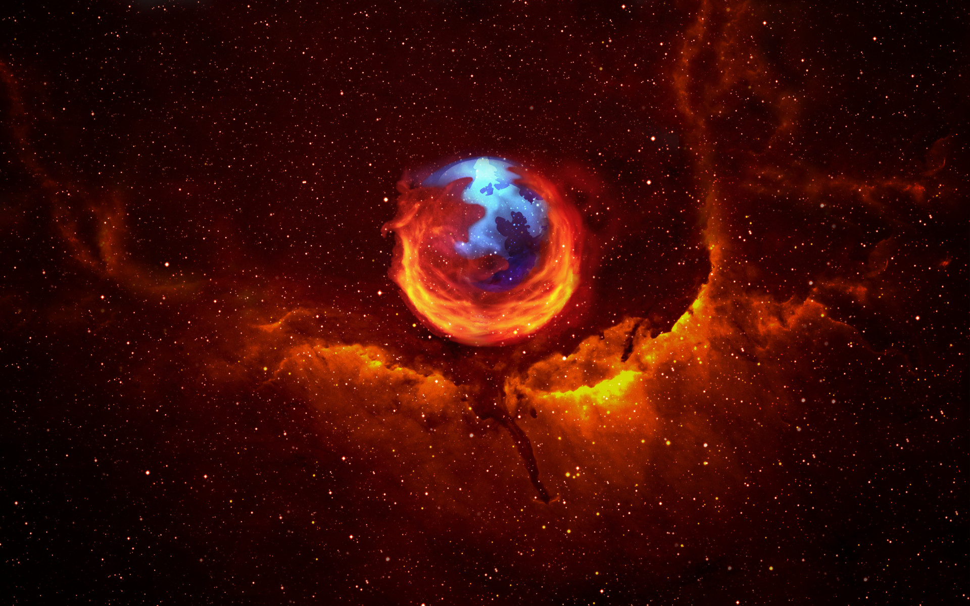 Awesome Firefox Wallpaper