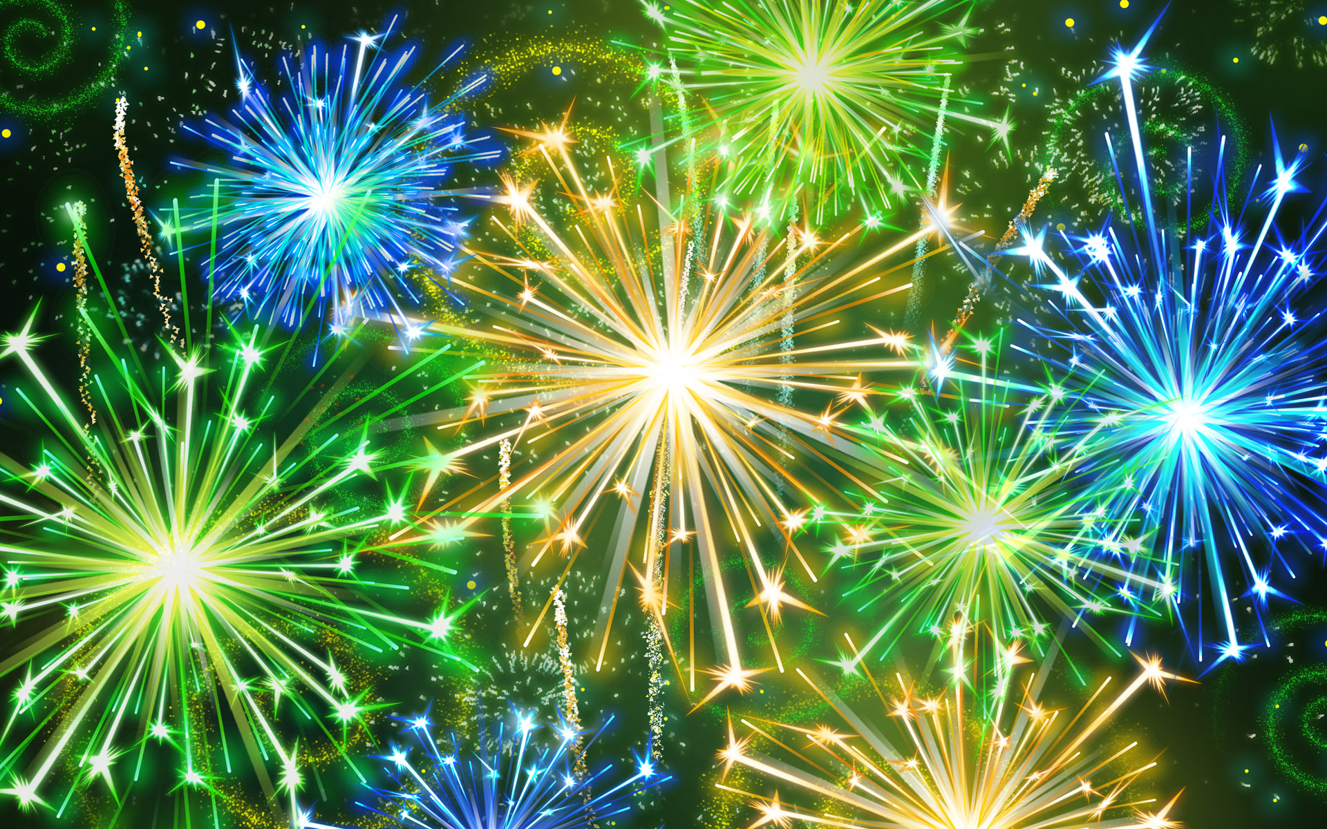 Awesome Fireworks Wallpaper 8647