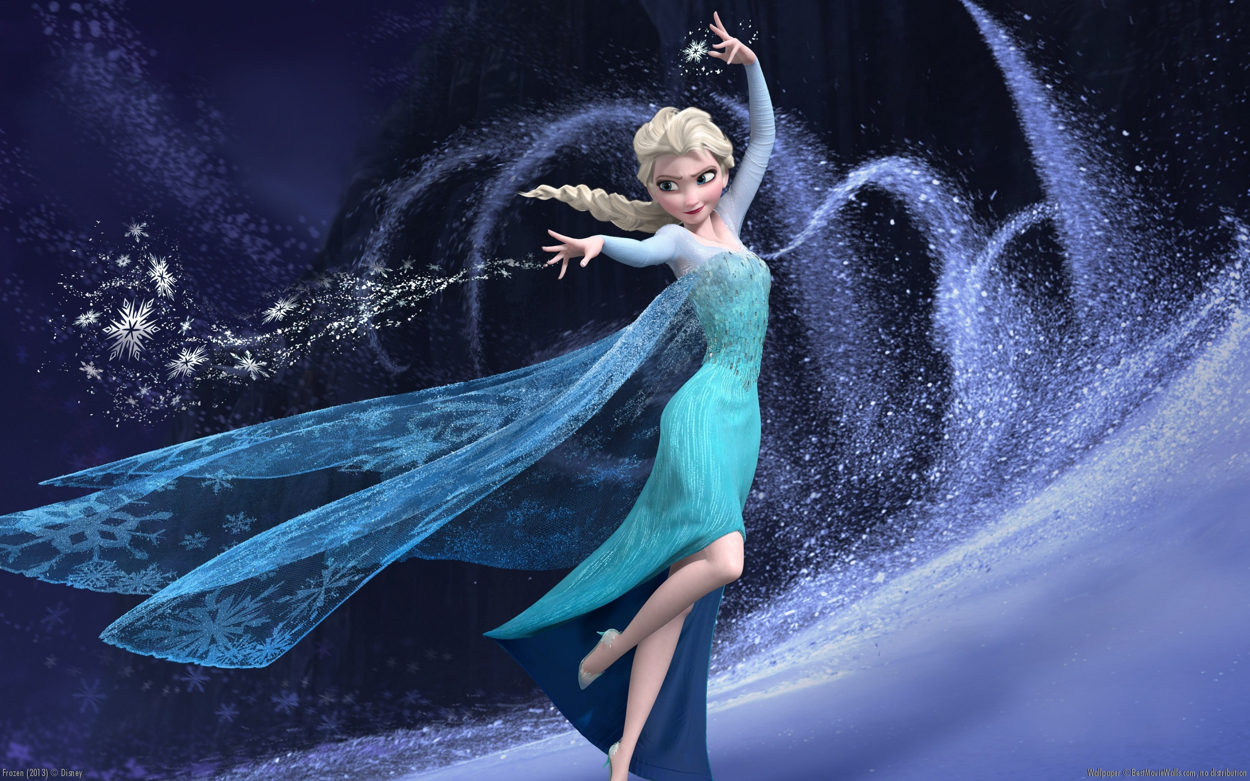 Disney Frozen Elsa Wallpaper Collection