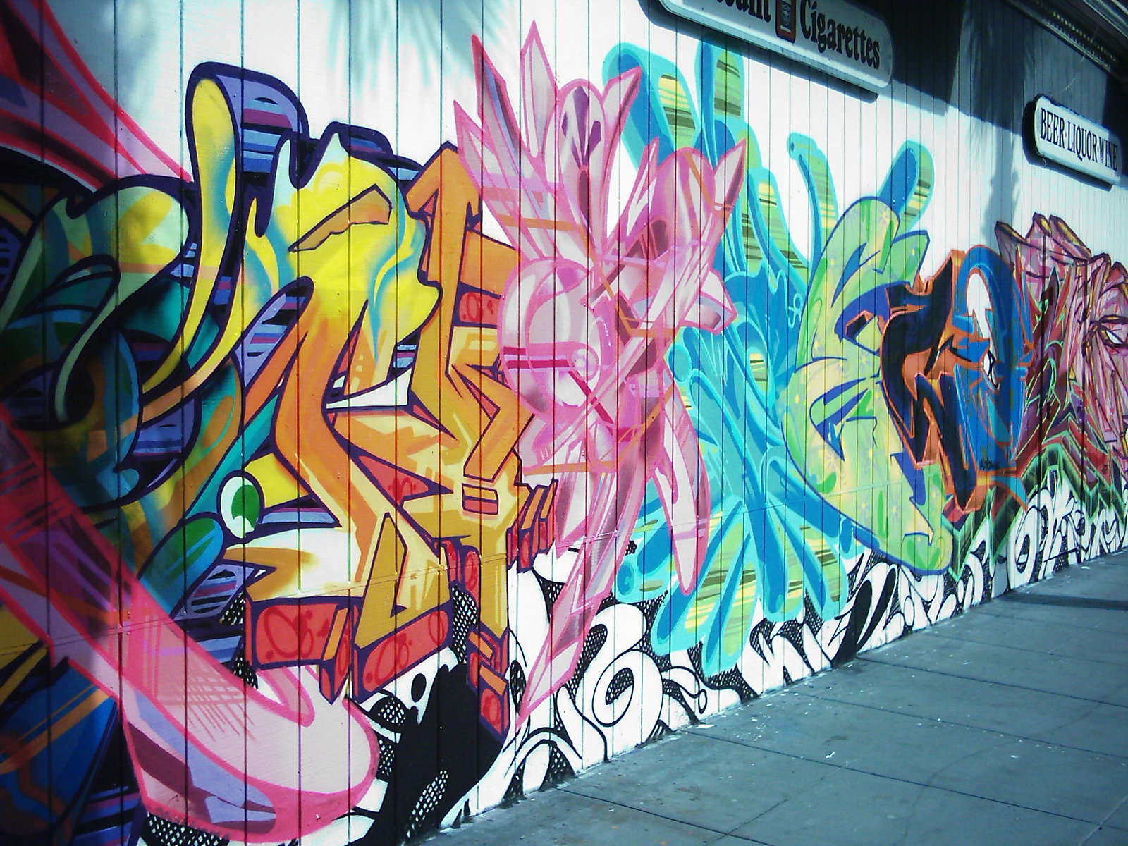 Awesome Graffiti Backgrounds
