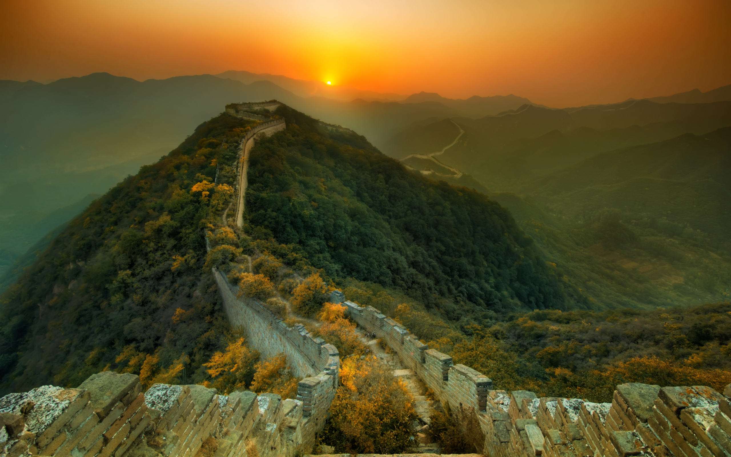 Awesome Great Wall of China Wallpaper