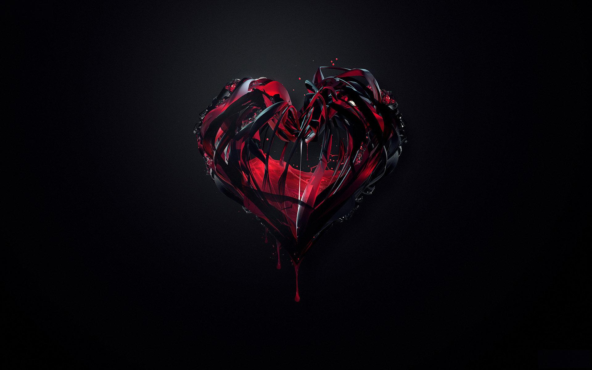 Awesome Heart Background