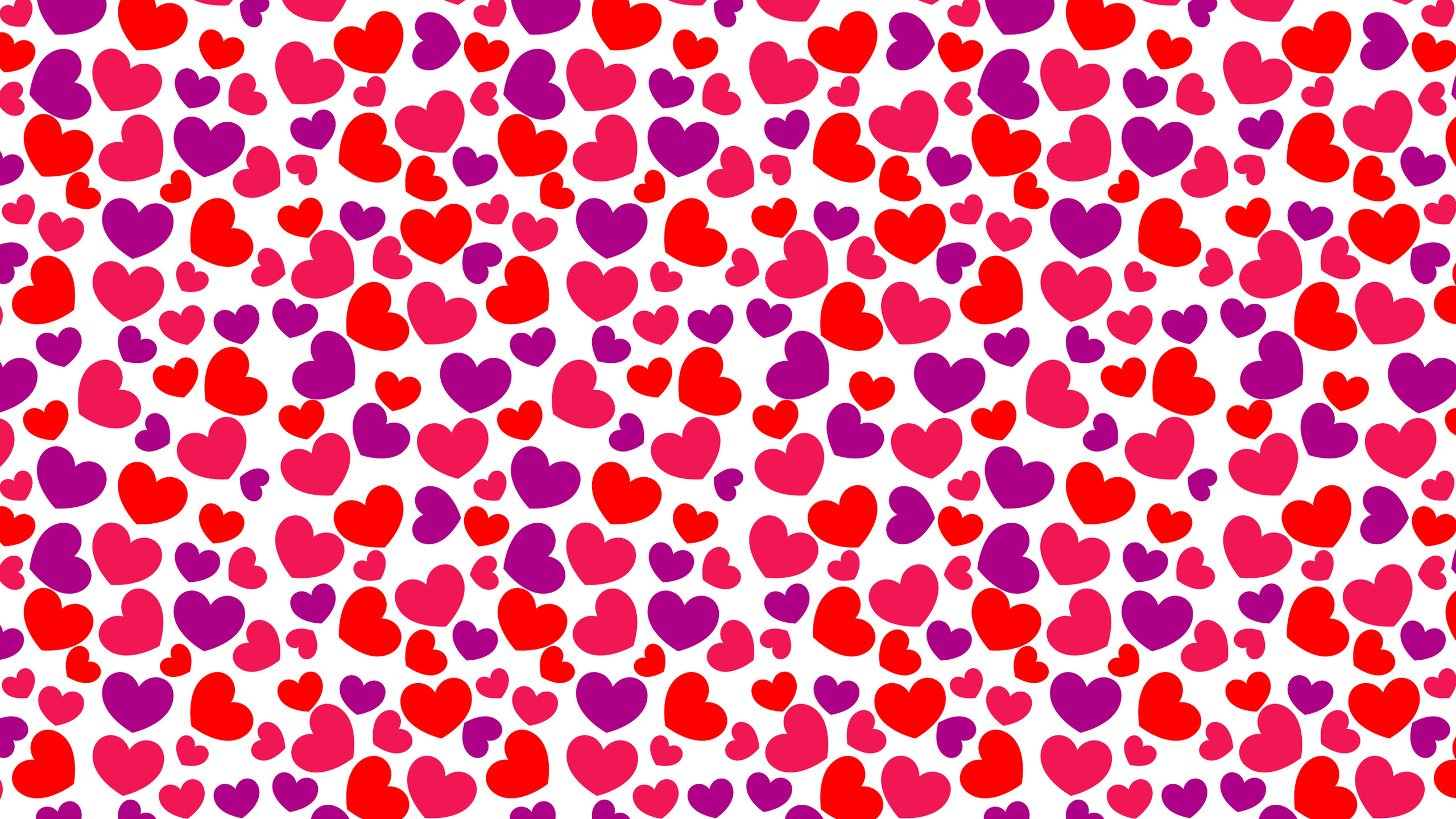 Awesome Heart Pattern Wallpaper