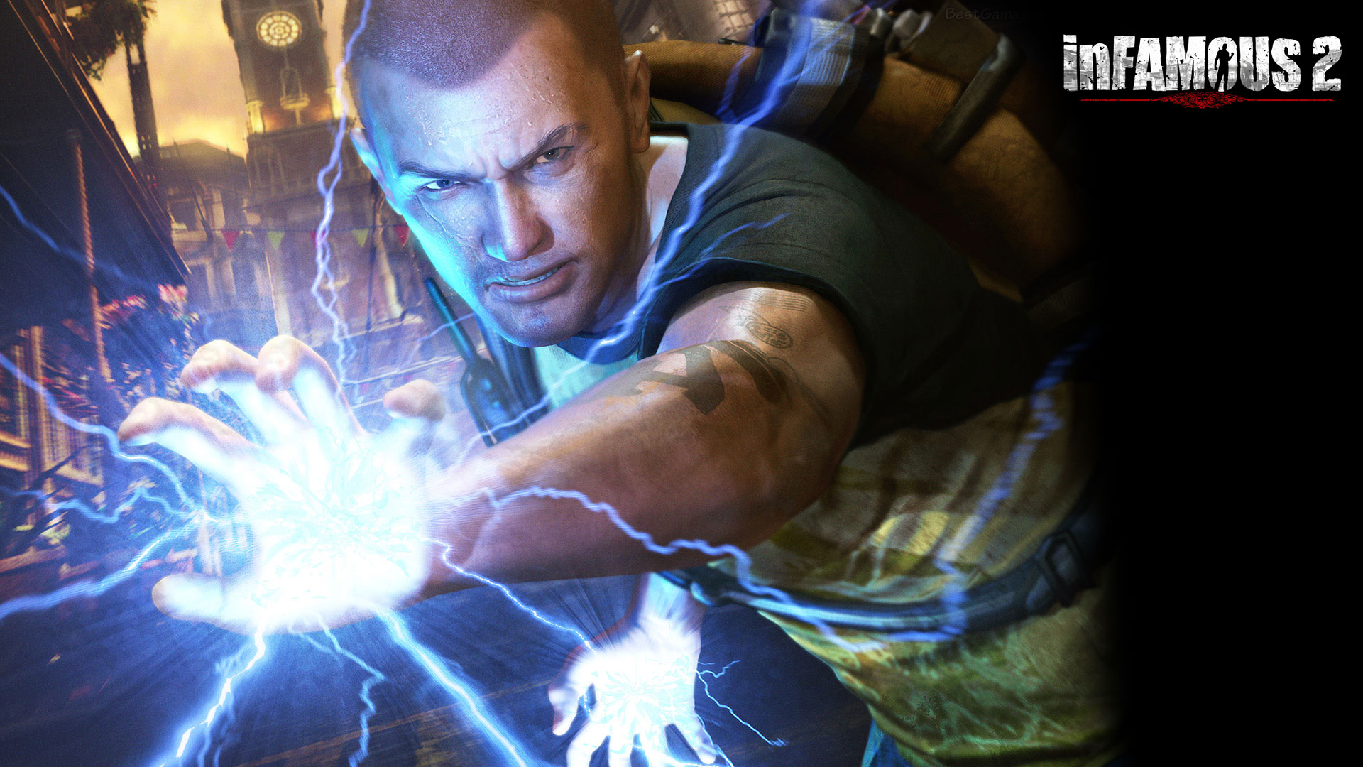 Awesome Infamous 2 Wallpaper