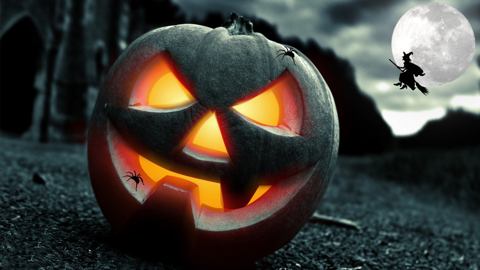 Awesome Jack o Lantern Wallpaper