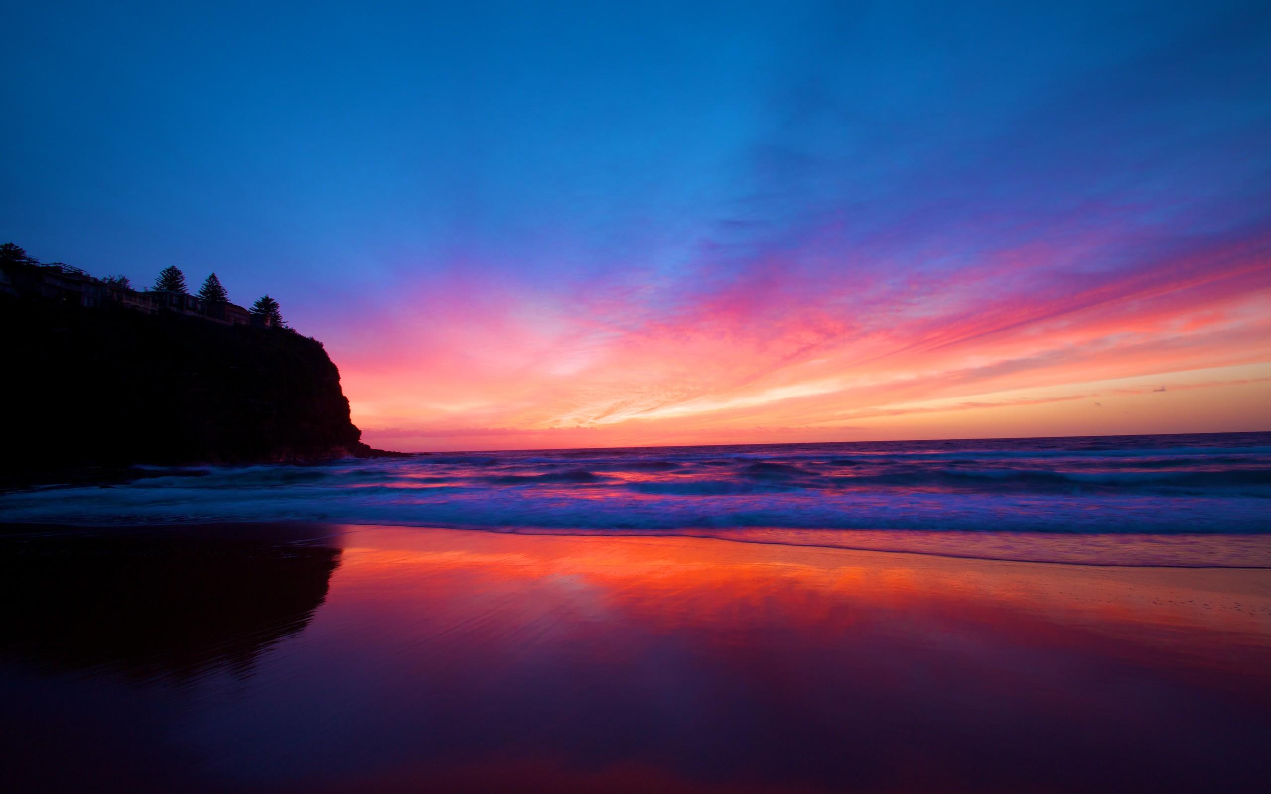 Awesome Landscape Sunset