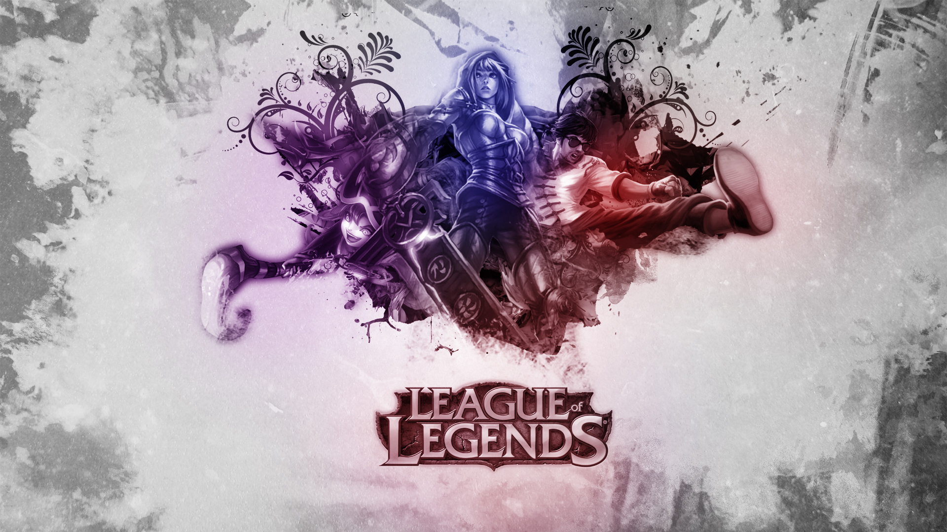 League of Legends Wallpaper by SMILYFACEvirus League of Legends Wallpaper by SMILYFACEvirus