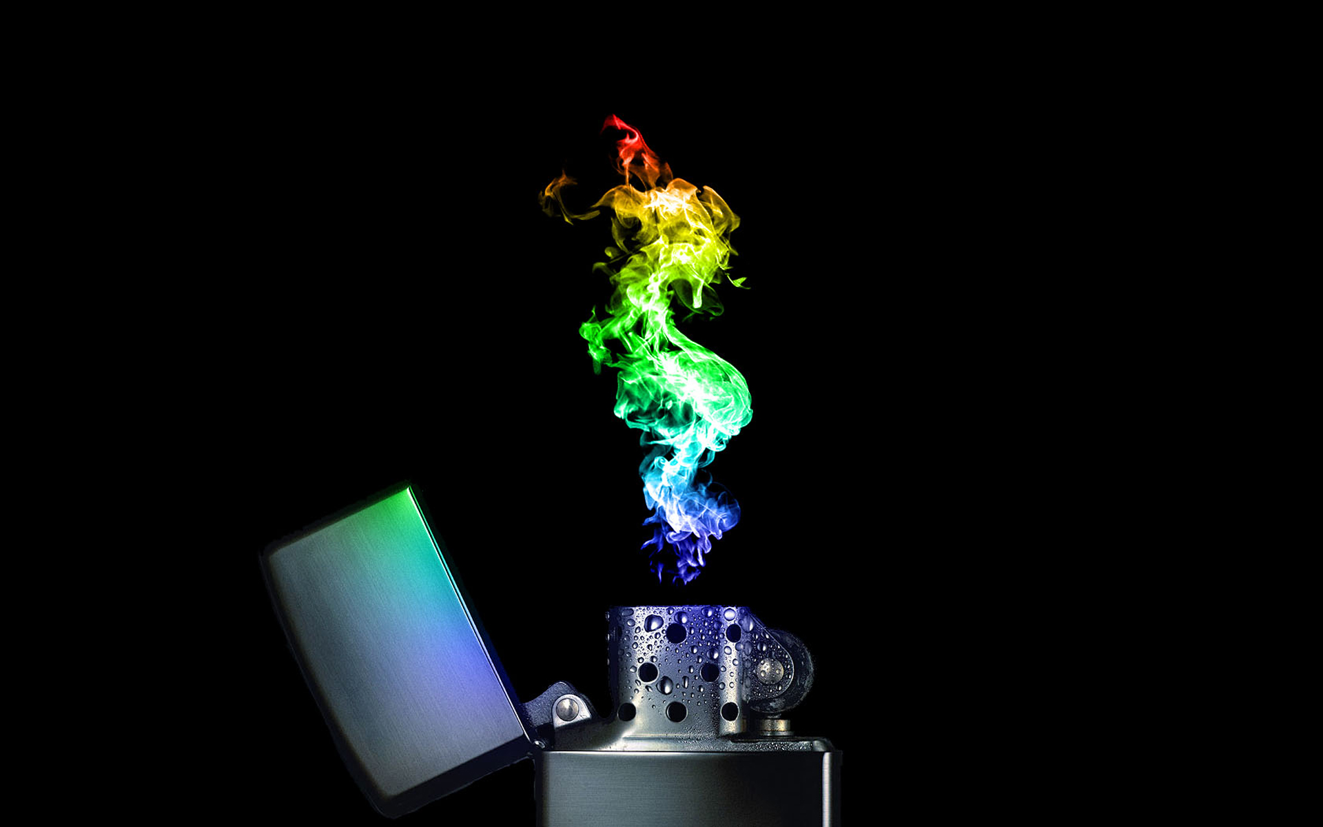 Lighter Flame Wallpaper