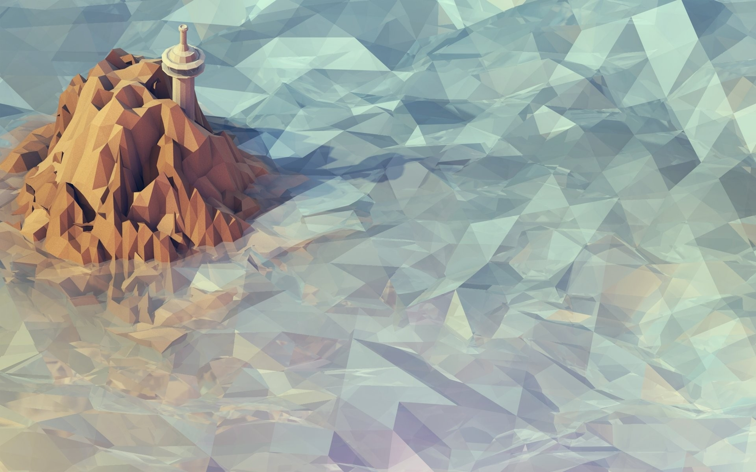 Awesome Low Poly Wallpaper