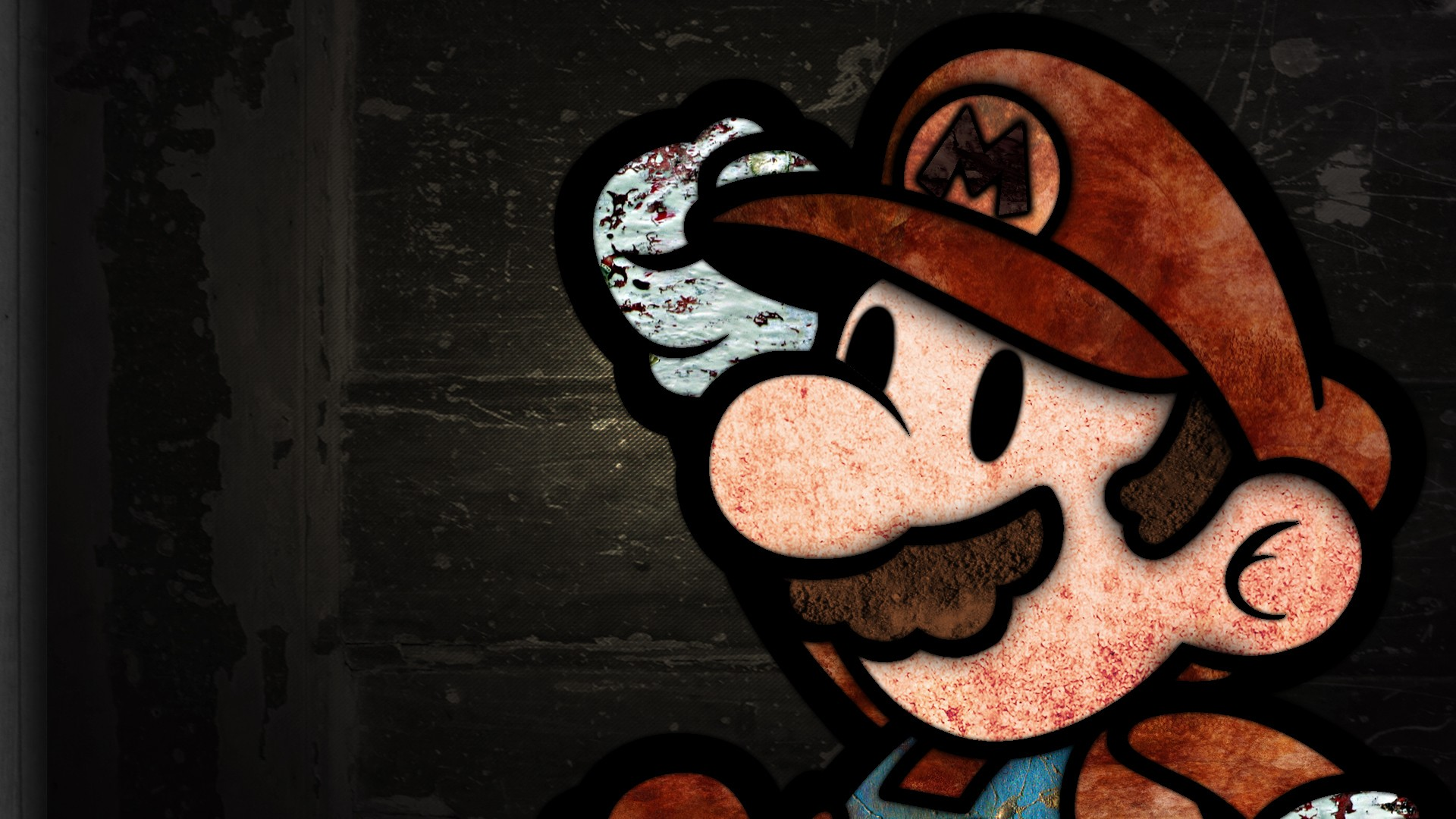 Super Mario Gaming Wallpaper Retro