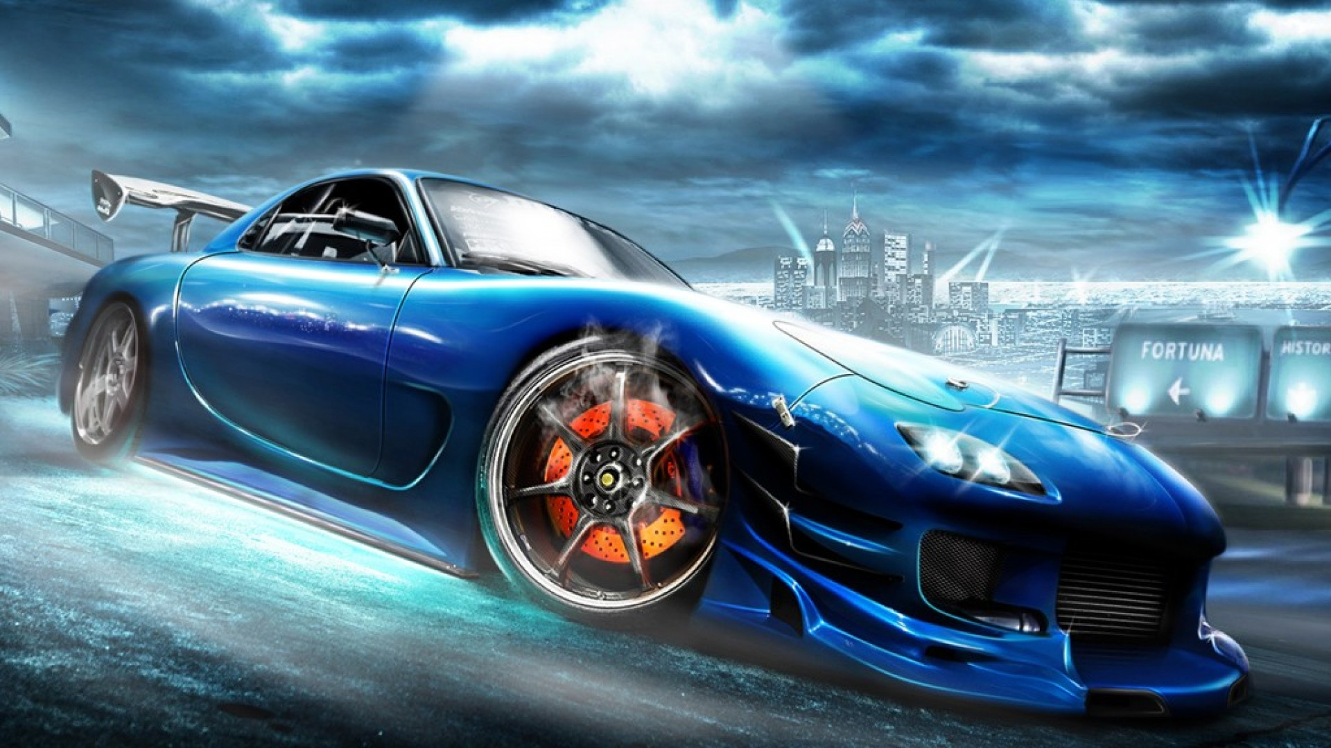 Awesome Mazda rx7 Wallpaper