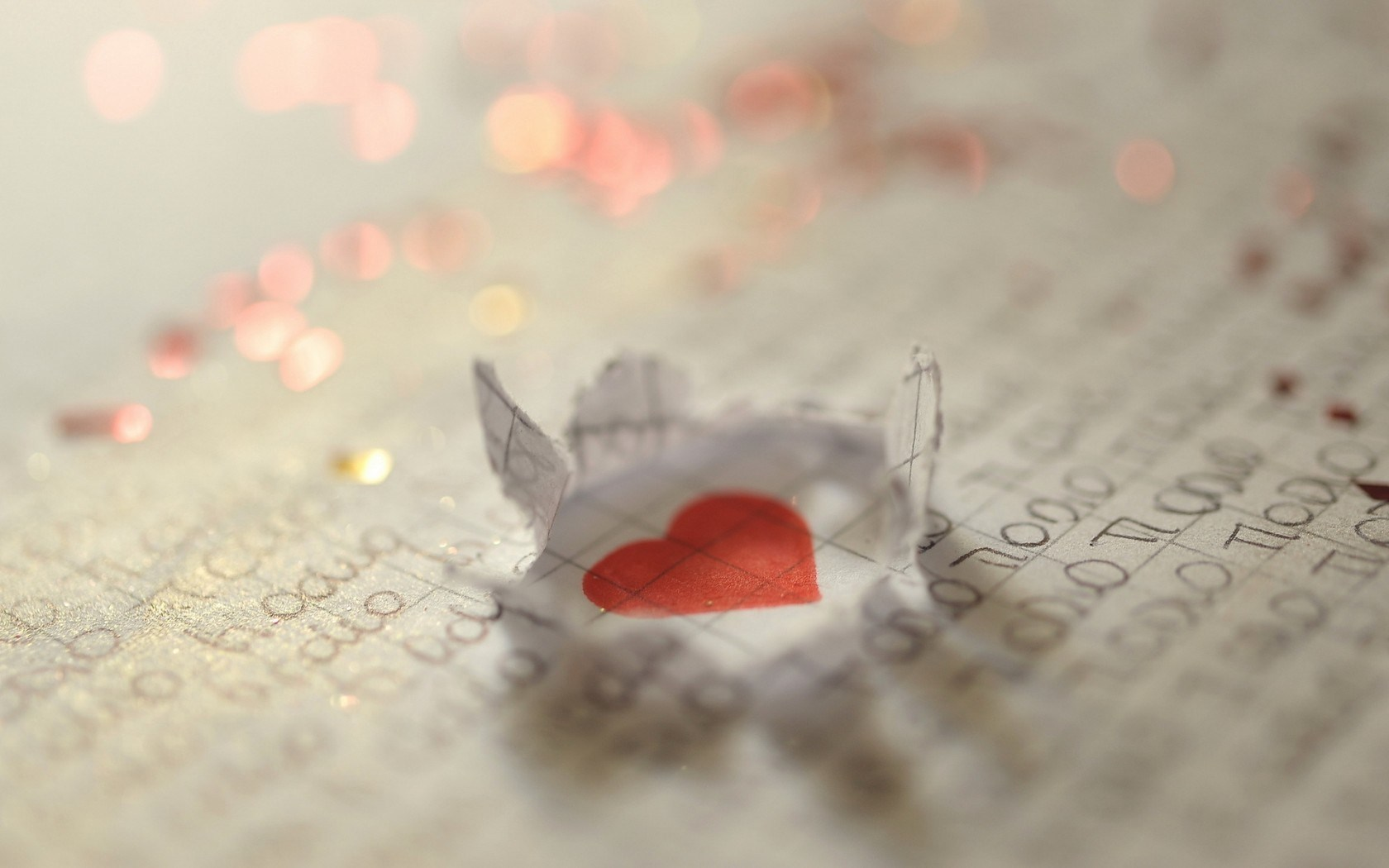 Awesome Love Wallpaper: Wonderful Heart Letter Mood Love Hd Wallpaper 1680x1050px