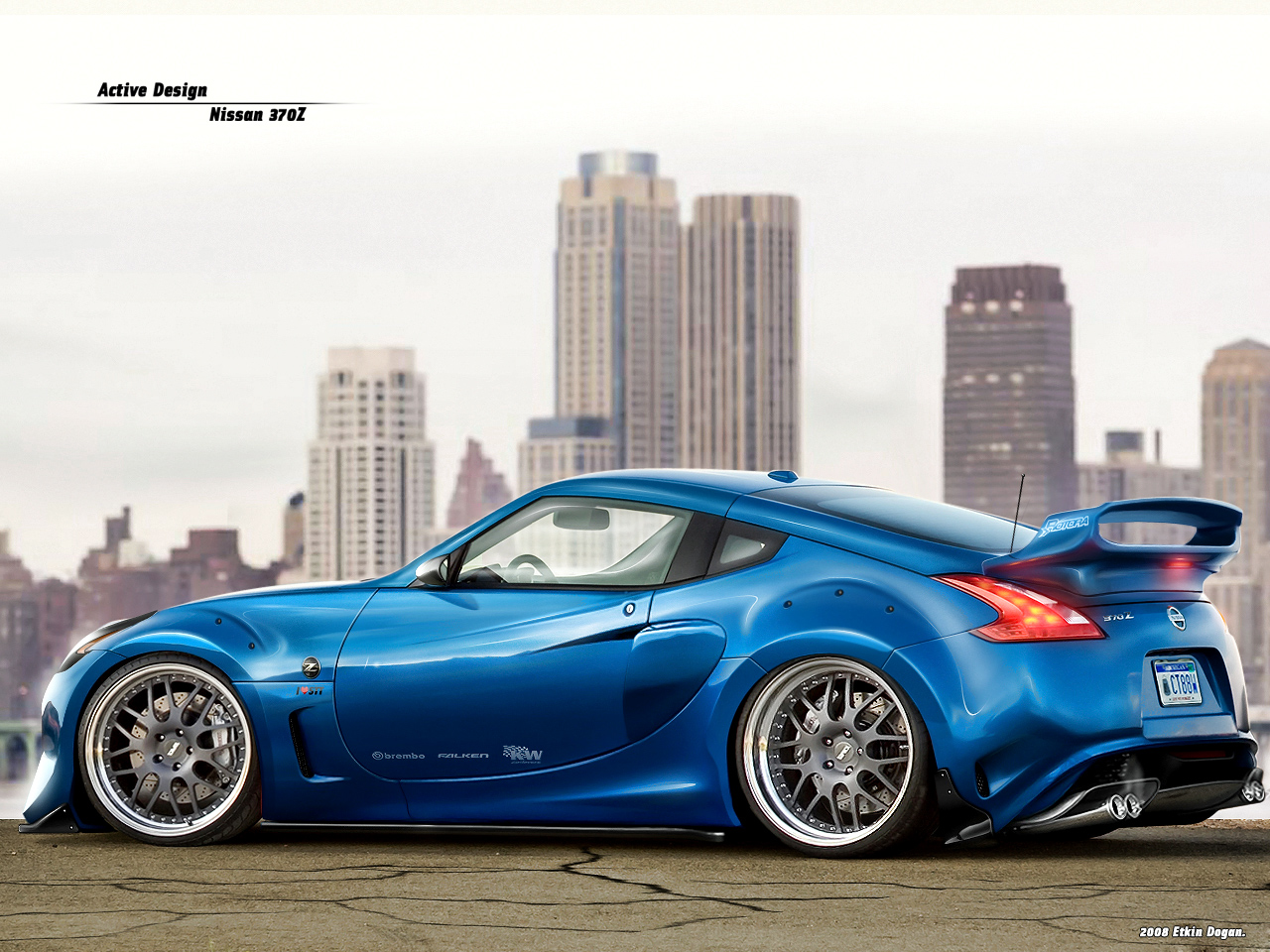 ... Nissan 370Z by Active-Design