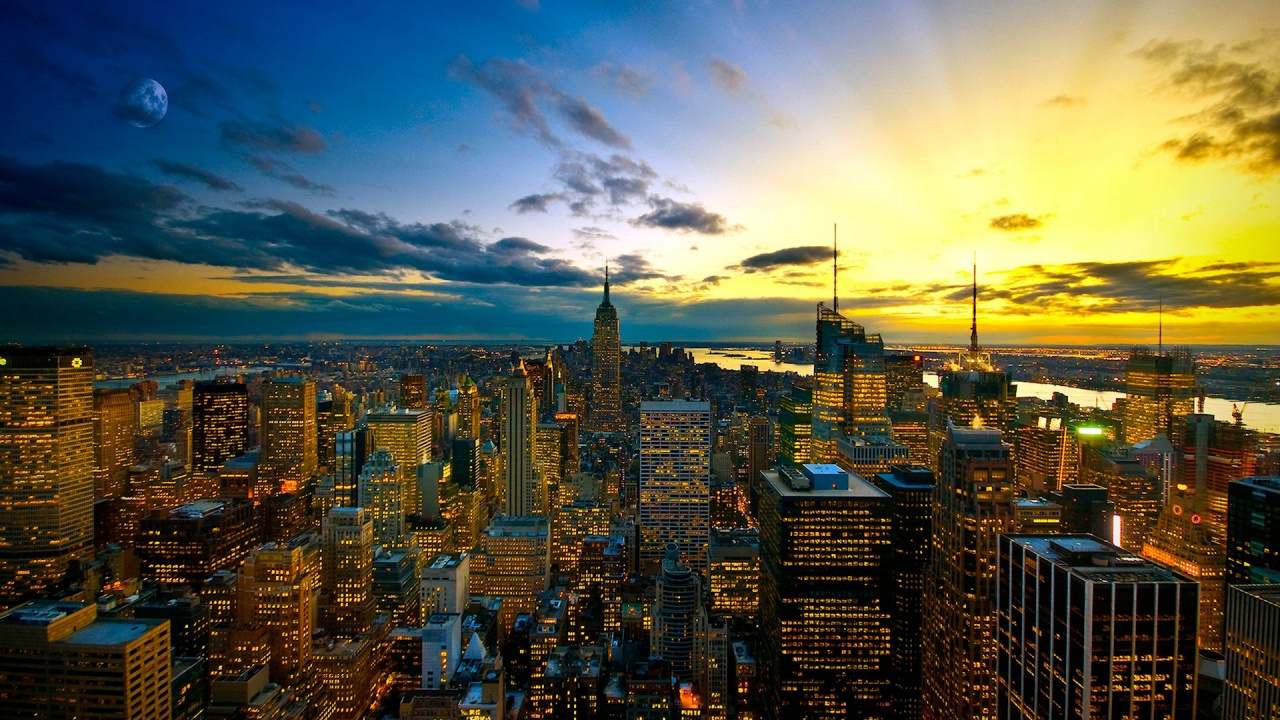New York Cityscape Wallpaper