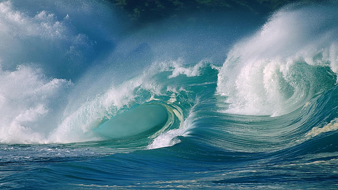 Awesome Ocean Surf Windows Wallpaper