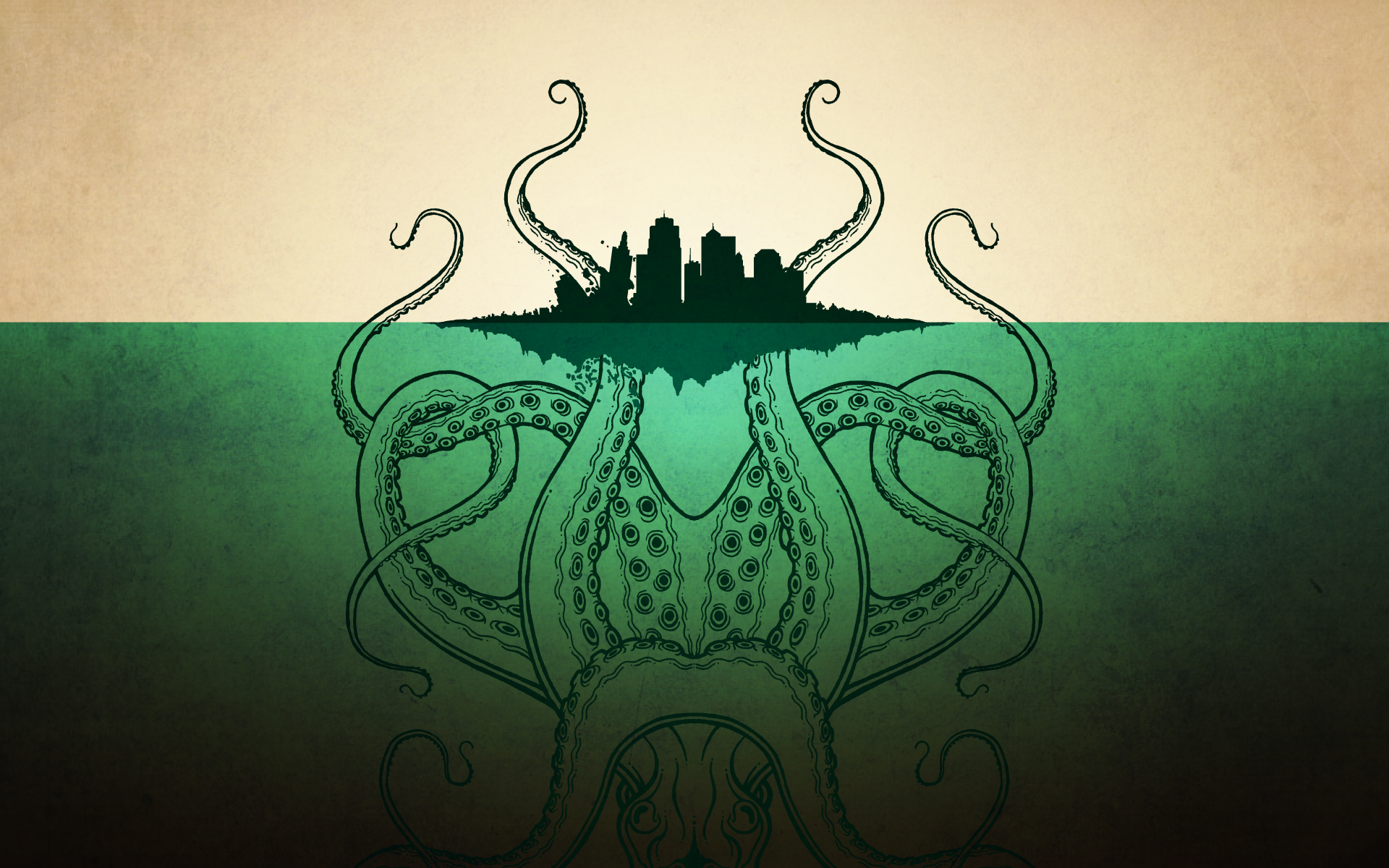Awesome Octopus Wallpaper