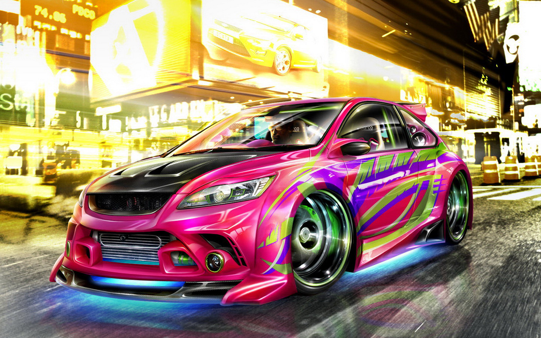 cool cars bugatti pink