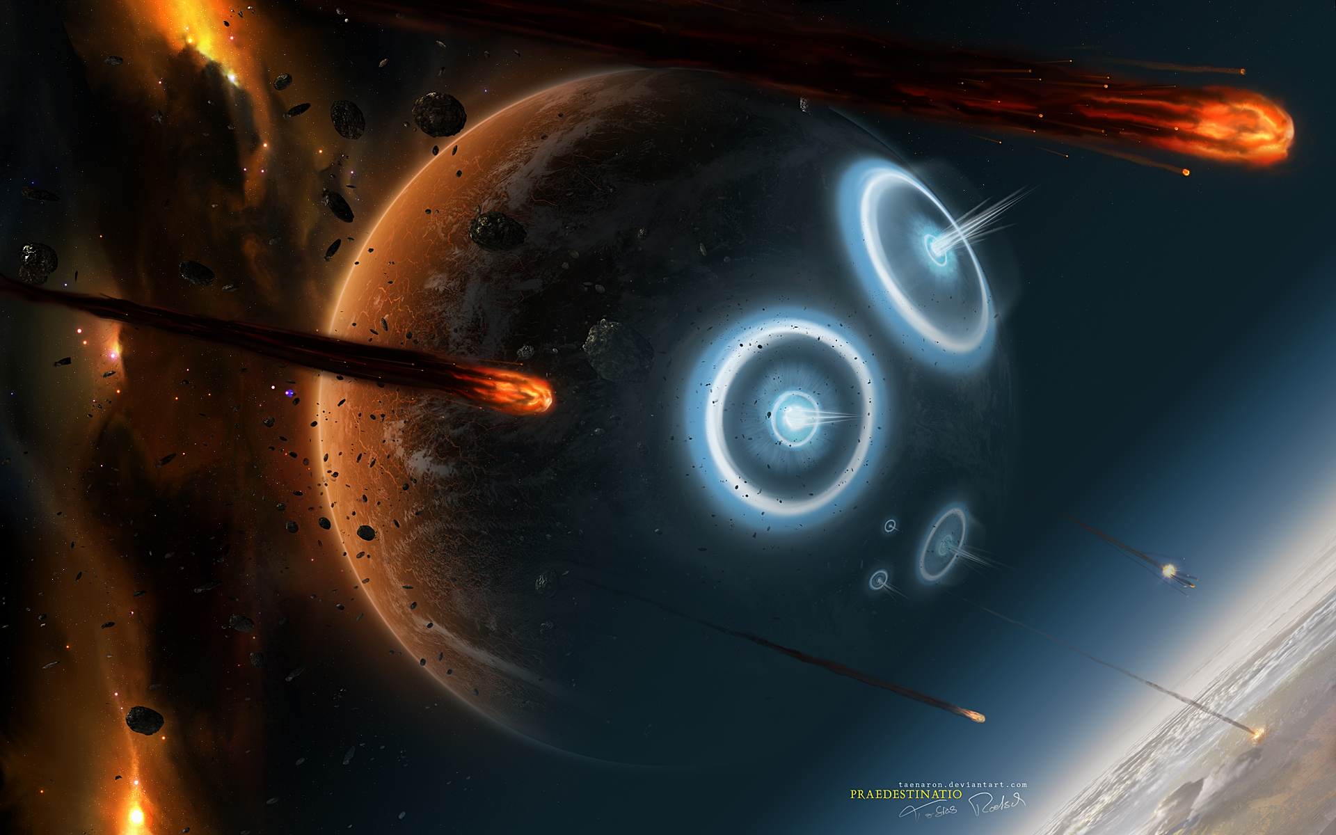 Awesome Planet Wallpaper