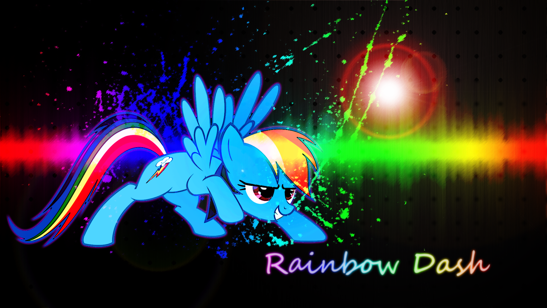Awesome Rainbow Dash Wallpaper
