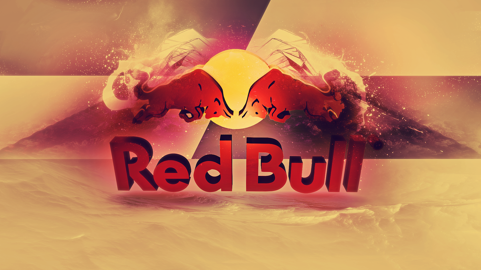 Awesome Red Bull Wallpaper